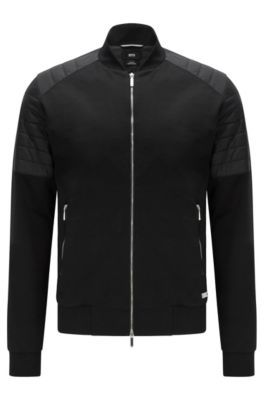 Hugo boss men 39 s jackets and coats free shipping for Hugo boss mercedes benz jacket