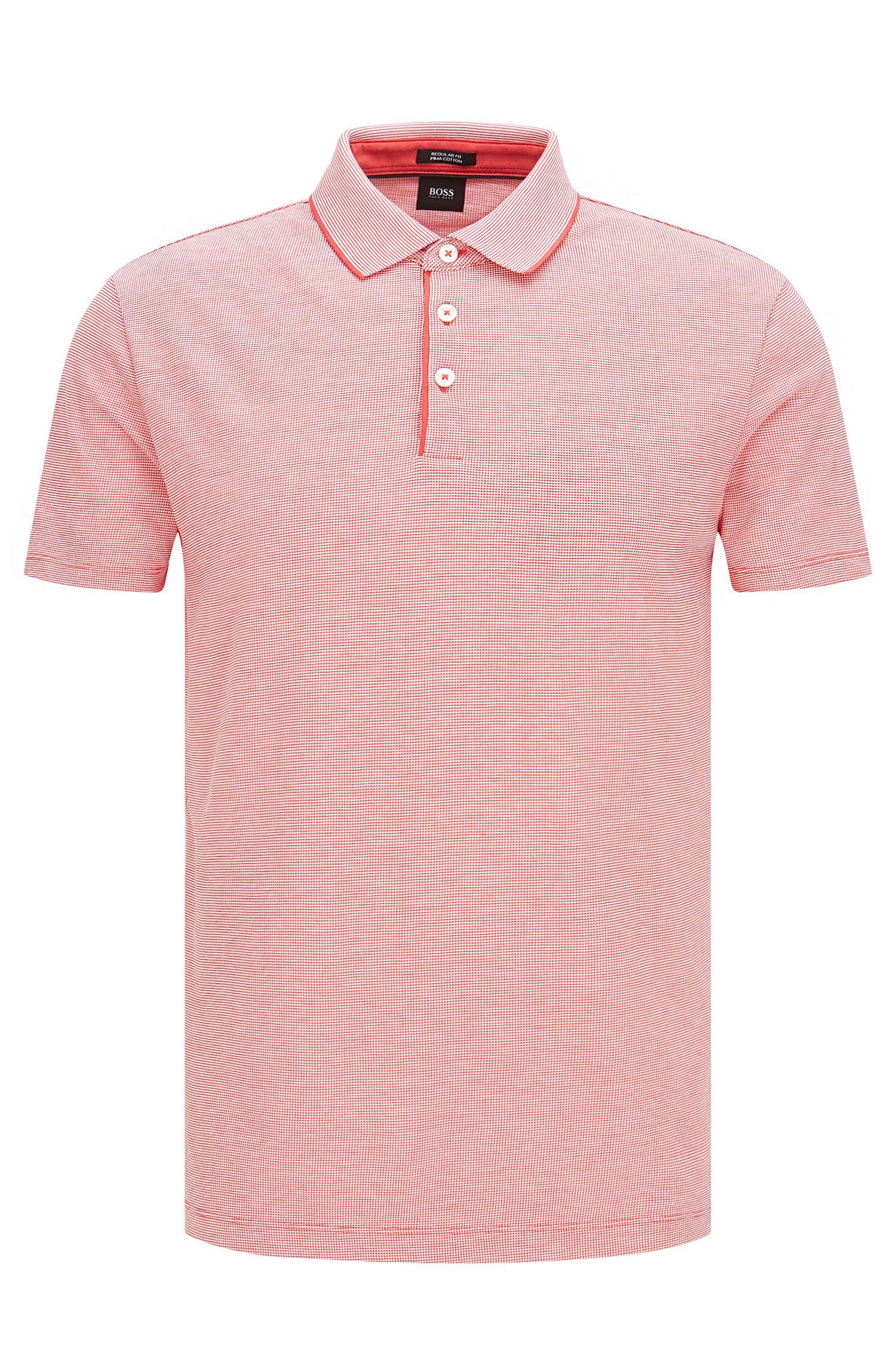 'Pack 09' | Regular Fit, Pima Cotton Polo Shirt