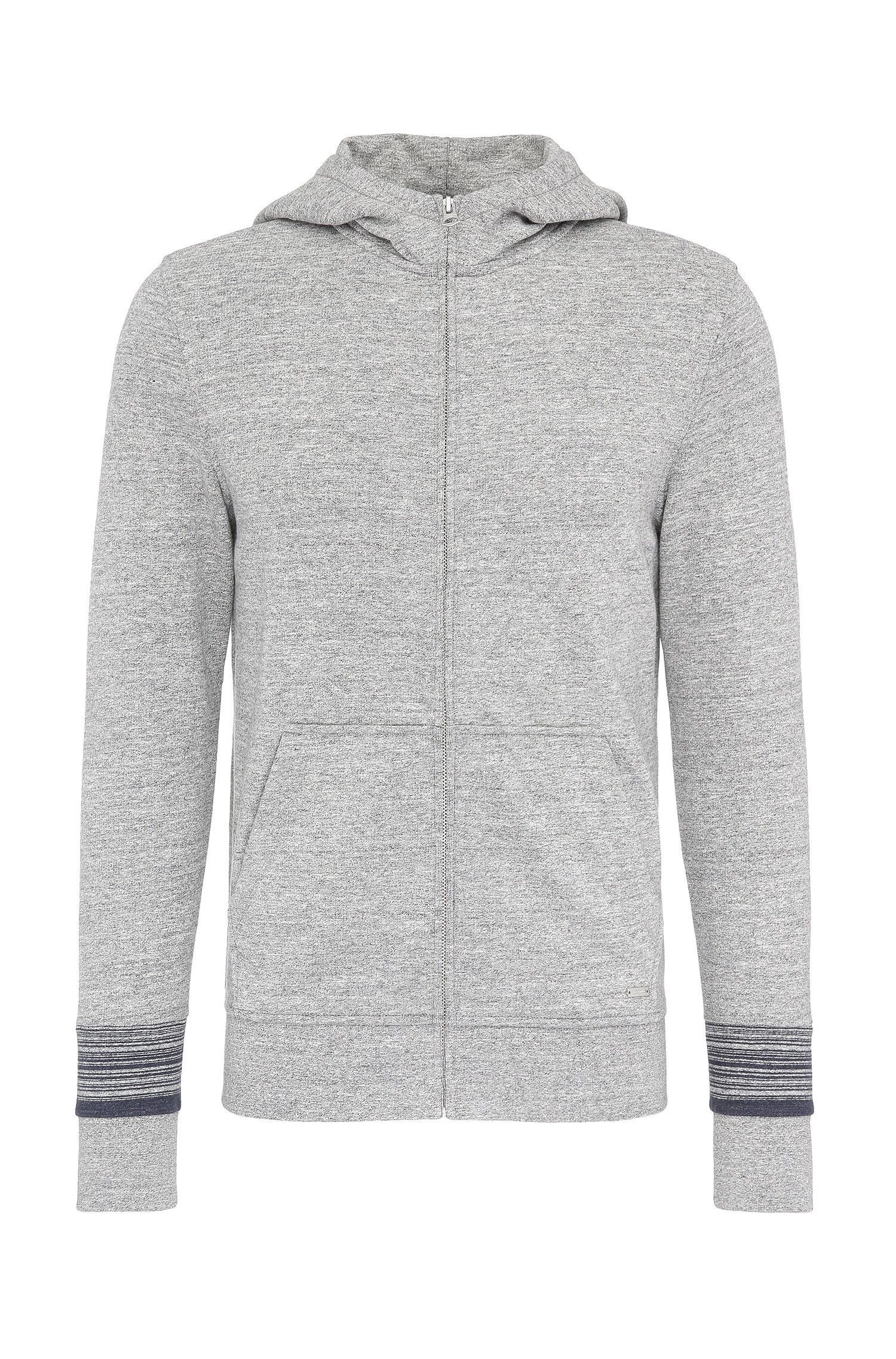 'Zappa' | Cotton French Terry Zip Hooded Jacket