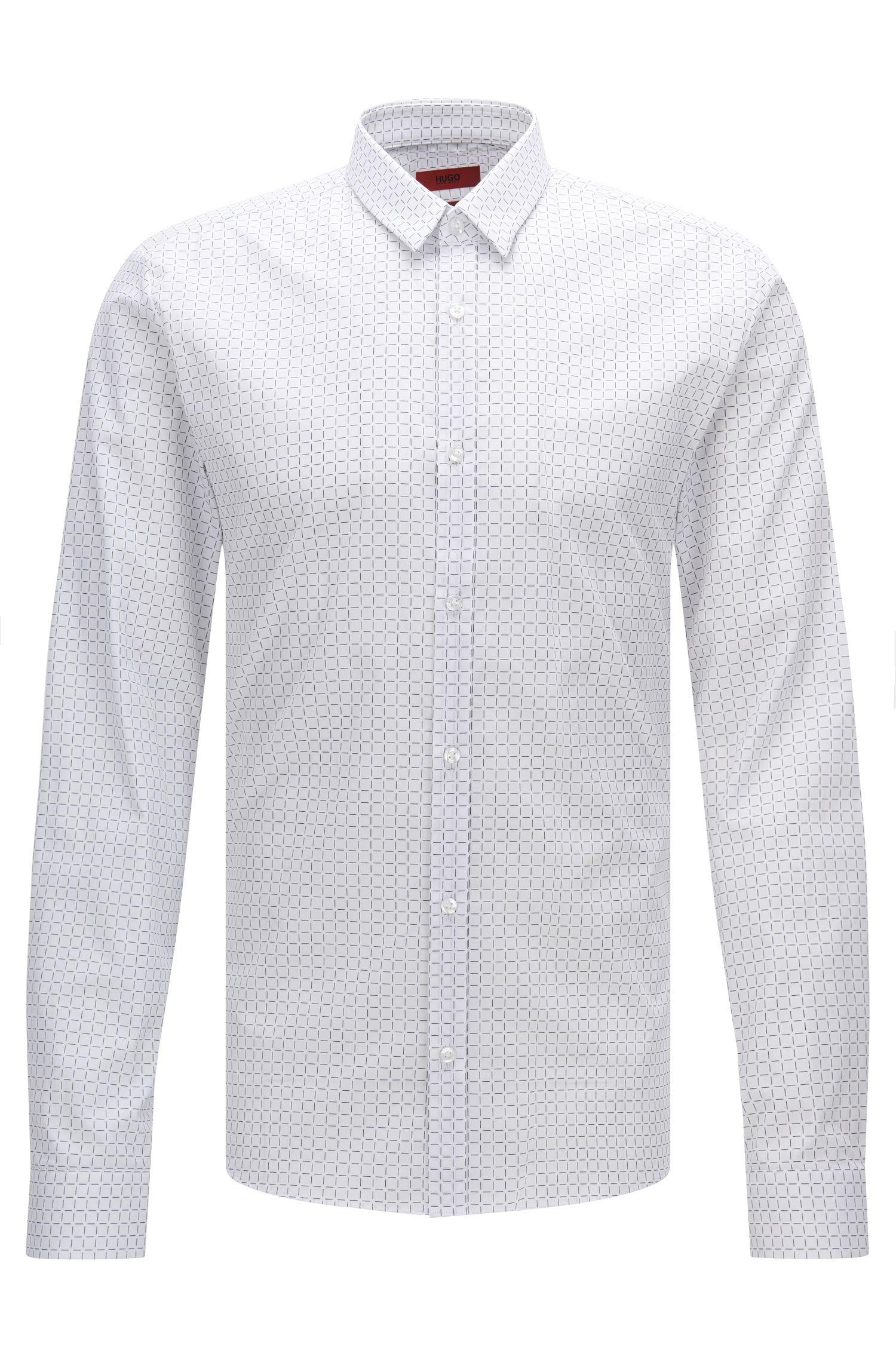 'Ero' | Slim Fit, Cotton Button Down Shirt