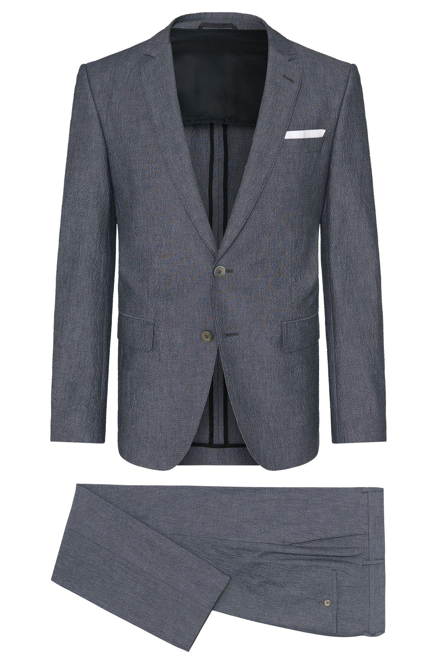 'Hedson/Gander' | Slim Fit, Stretch Cotton Seersucker Suit
