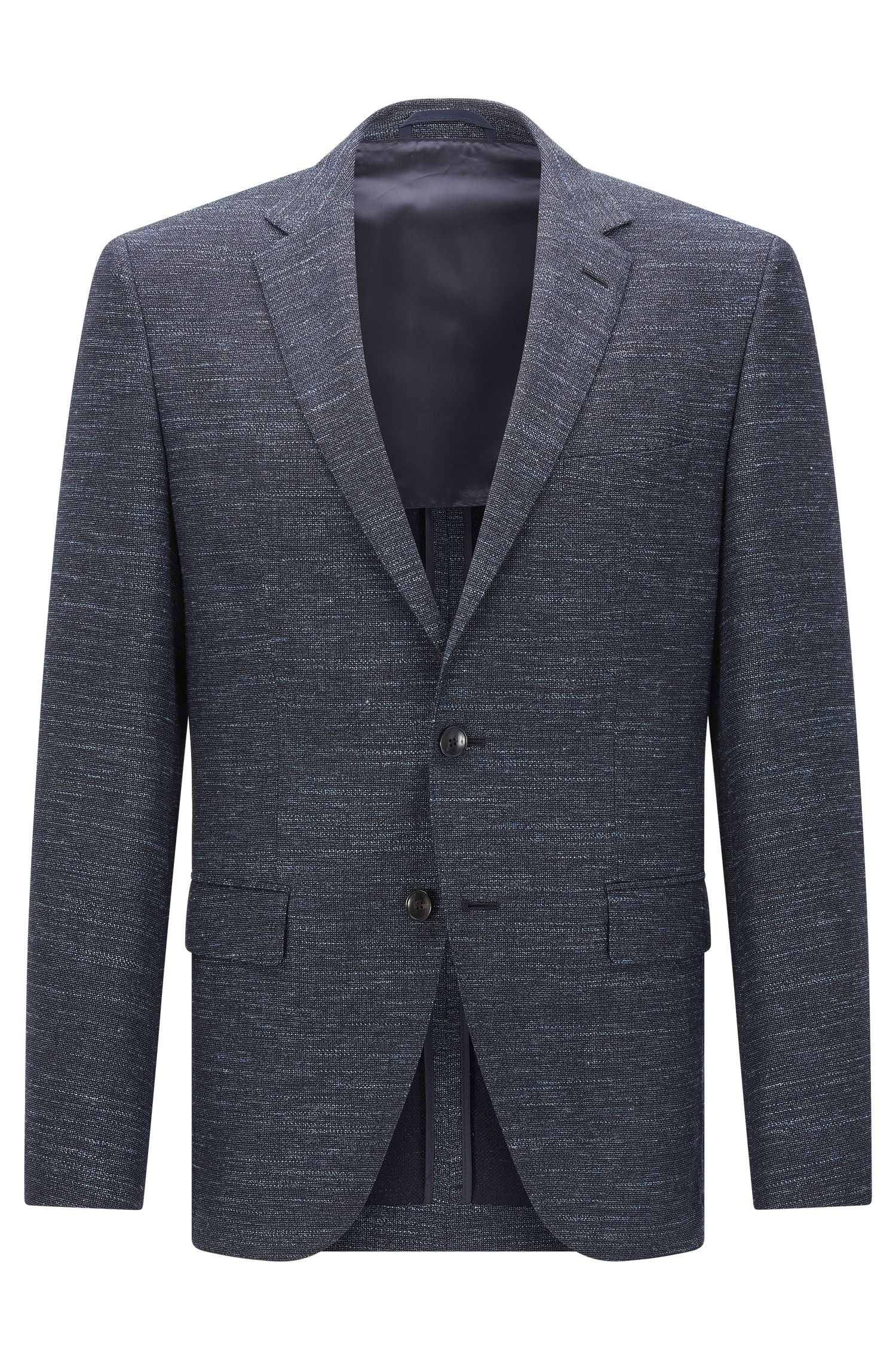 'Jestor' | Regular Fit, Virgin Wool Cotton Linen Sport Coat