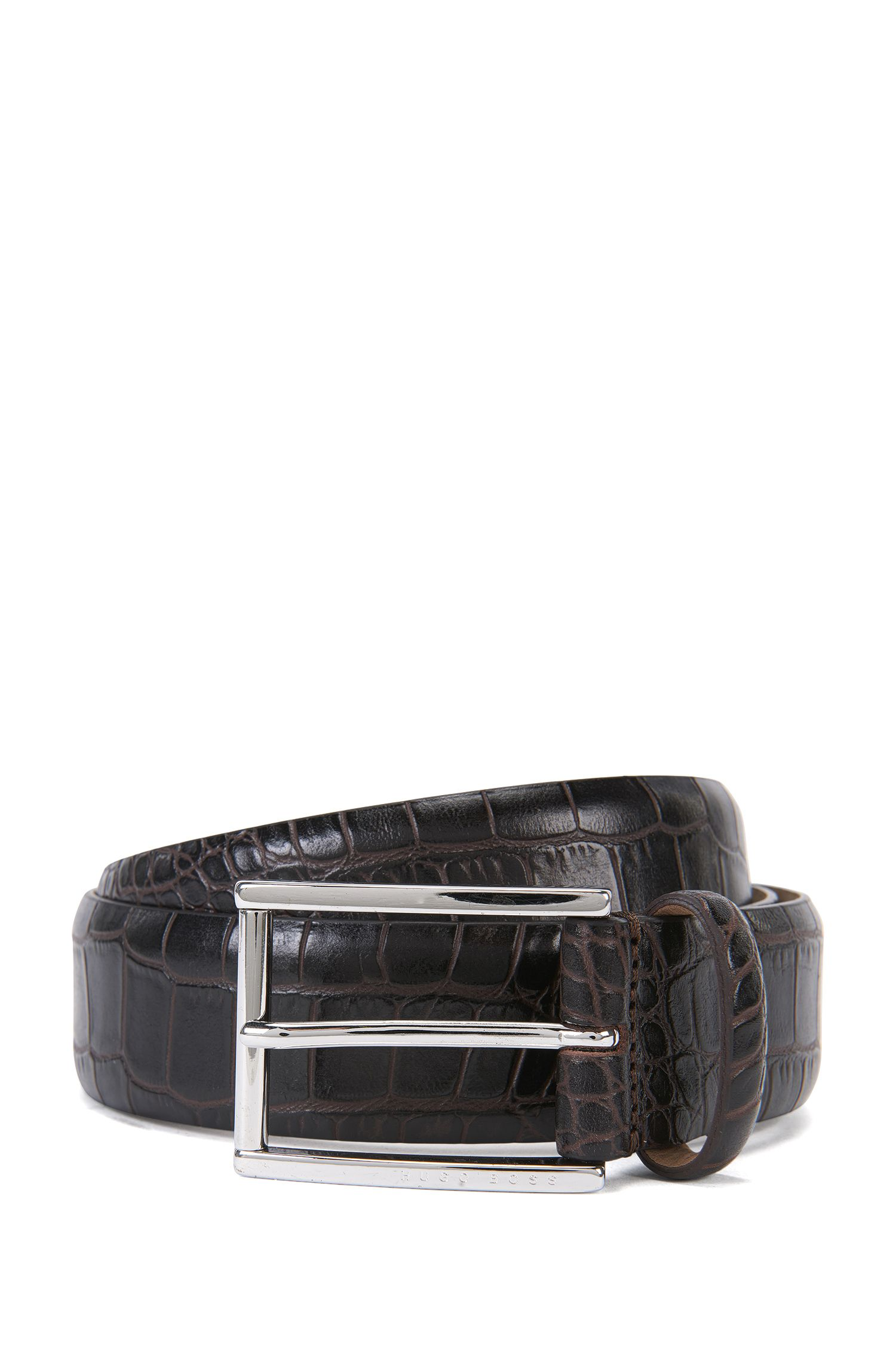 'T-Lelion' | Italian Patent Leather Belt