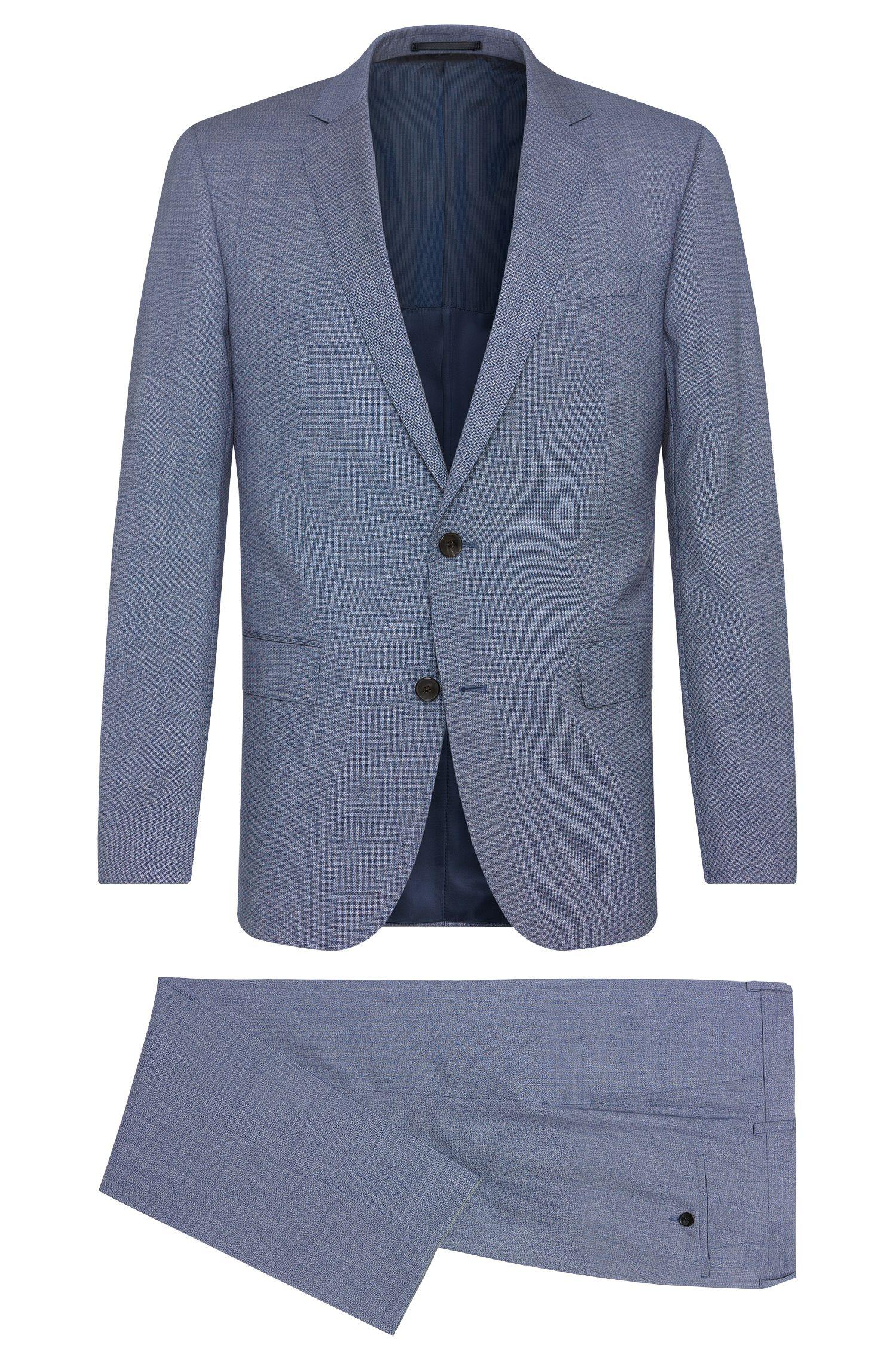 'Huge/Genius' | Slim Fit, Italian Super 130 Virgin Wool Suit