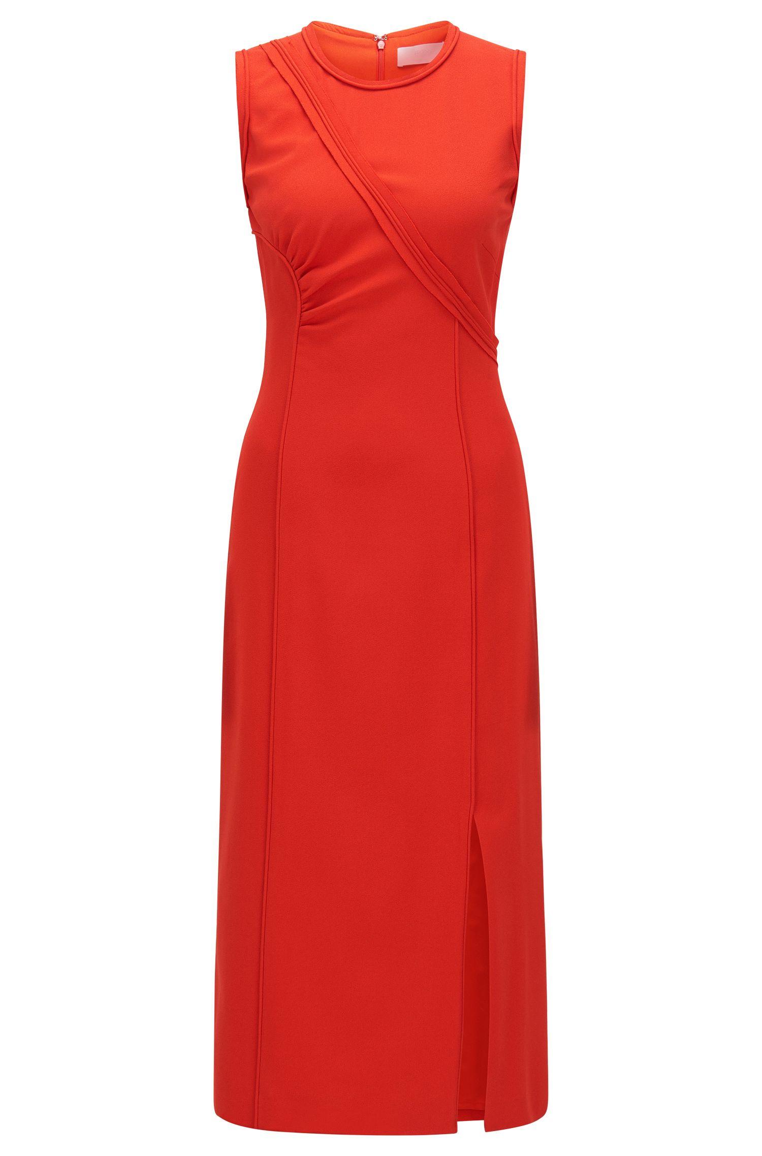 FS Dymeani C | Asymmetrical Bodice Sheath Dress