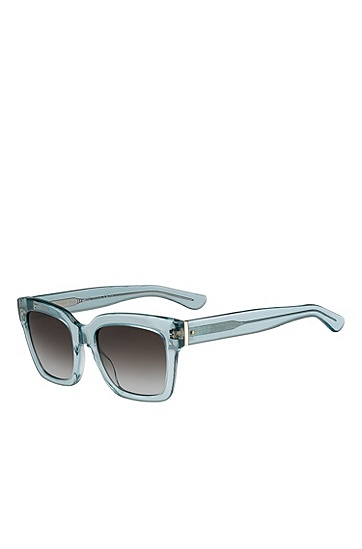 'BOSS 0674S' | Gray Gradient Lens Rectangular Sunglasses , Assorted-Pre-Pack