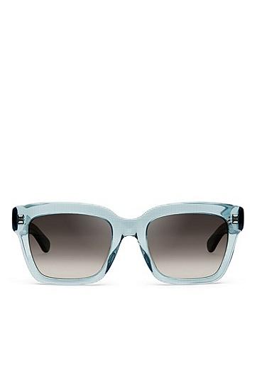 'BOSS 0674S' | Gray Gradient Lens Rectangular Sunglasses , Assorted-Pre-Pack