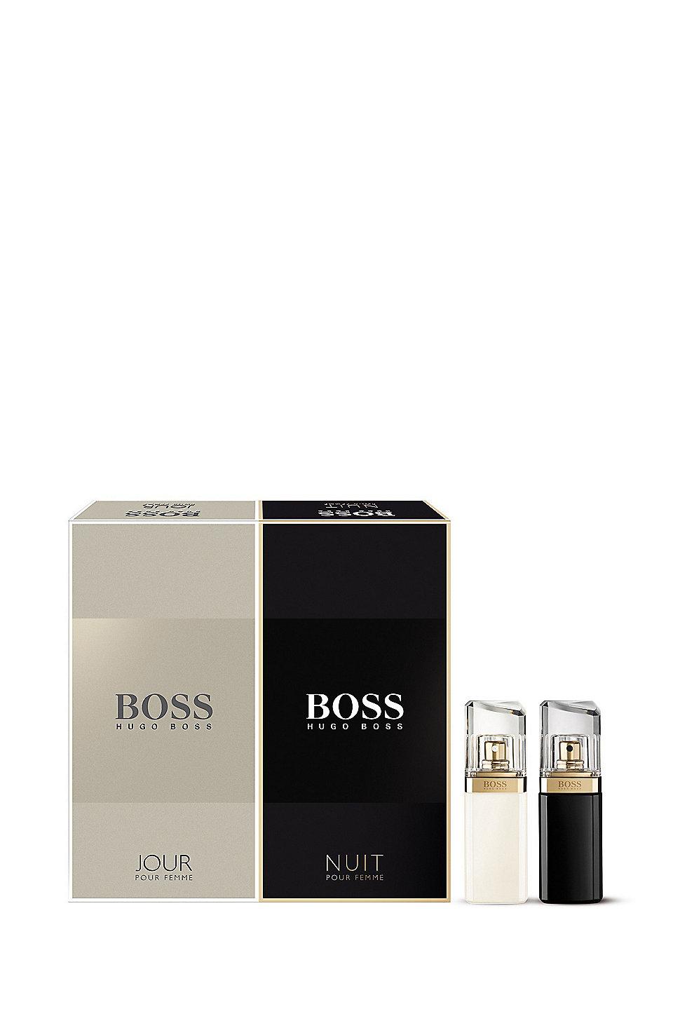 39 boss jour and nuit gift set 39 boss jour 1 fl oz and boss nuit 1 fl oz eau de parfums. Black Bedroom Furniture Sets. Home Design Ideas