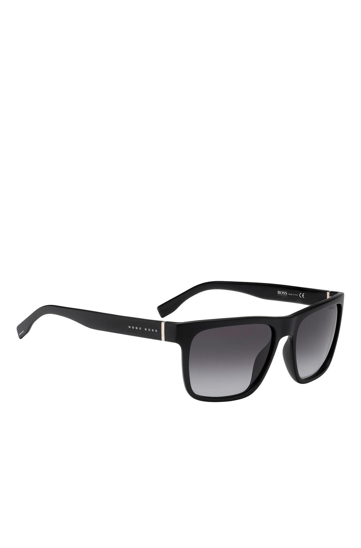 'BOSS 0727' | Shaded Lens Regtangular Optyl Sunglasses