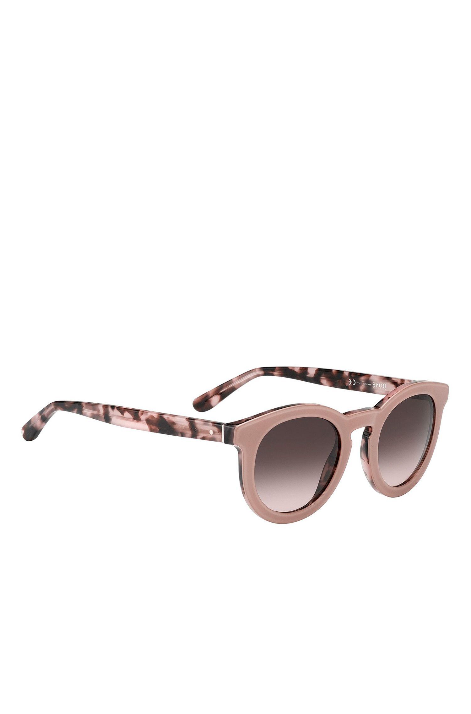 'BOSS 0742S'   Gradient Lens Acetate Sunglasses