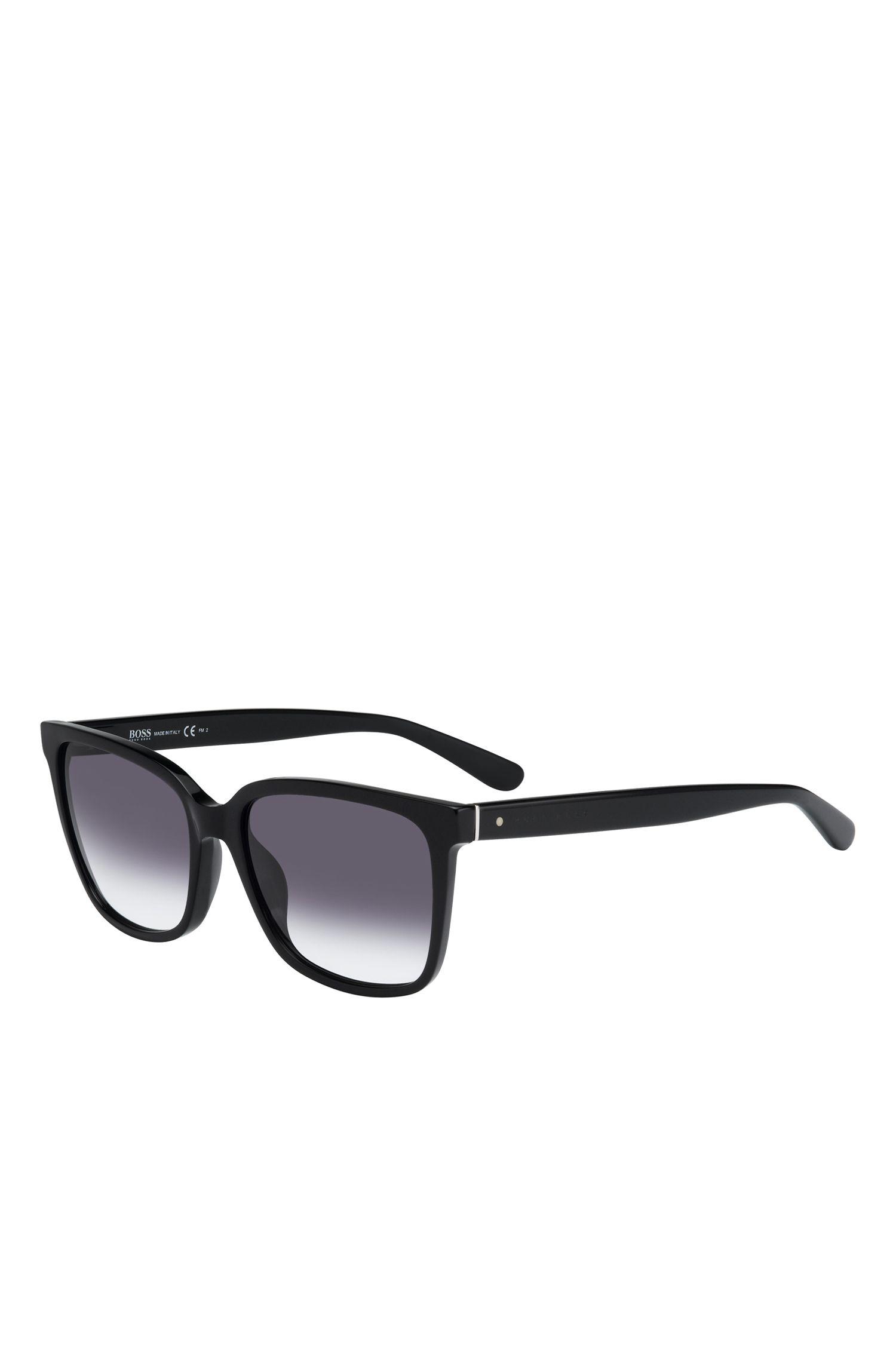 'BOSS 0787S'   Gradient Lens Rectangular Sunglasses