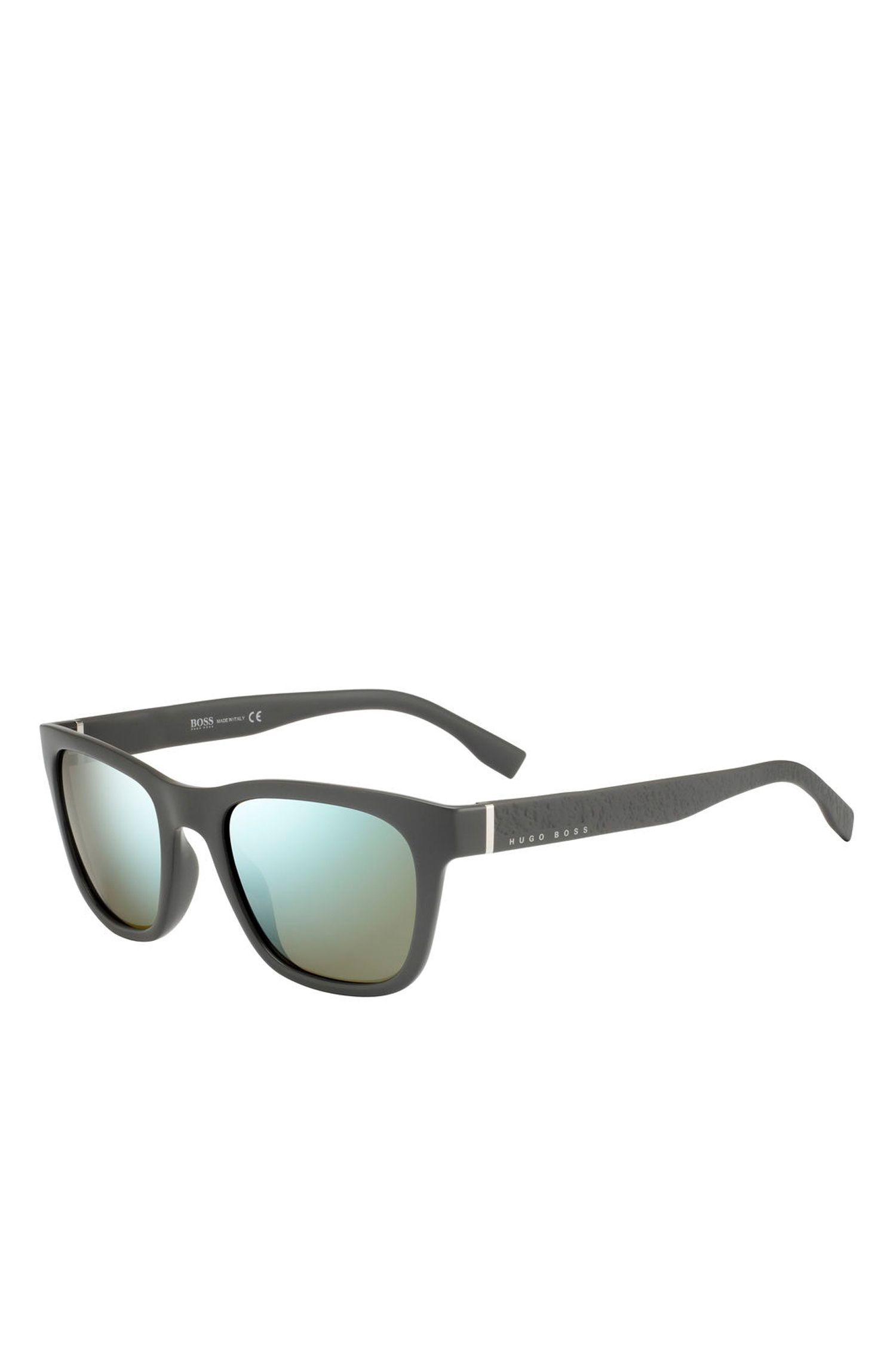 '0830S' | Mirror Lens Optyl Square Sunglasses