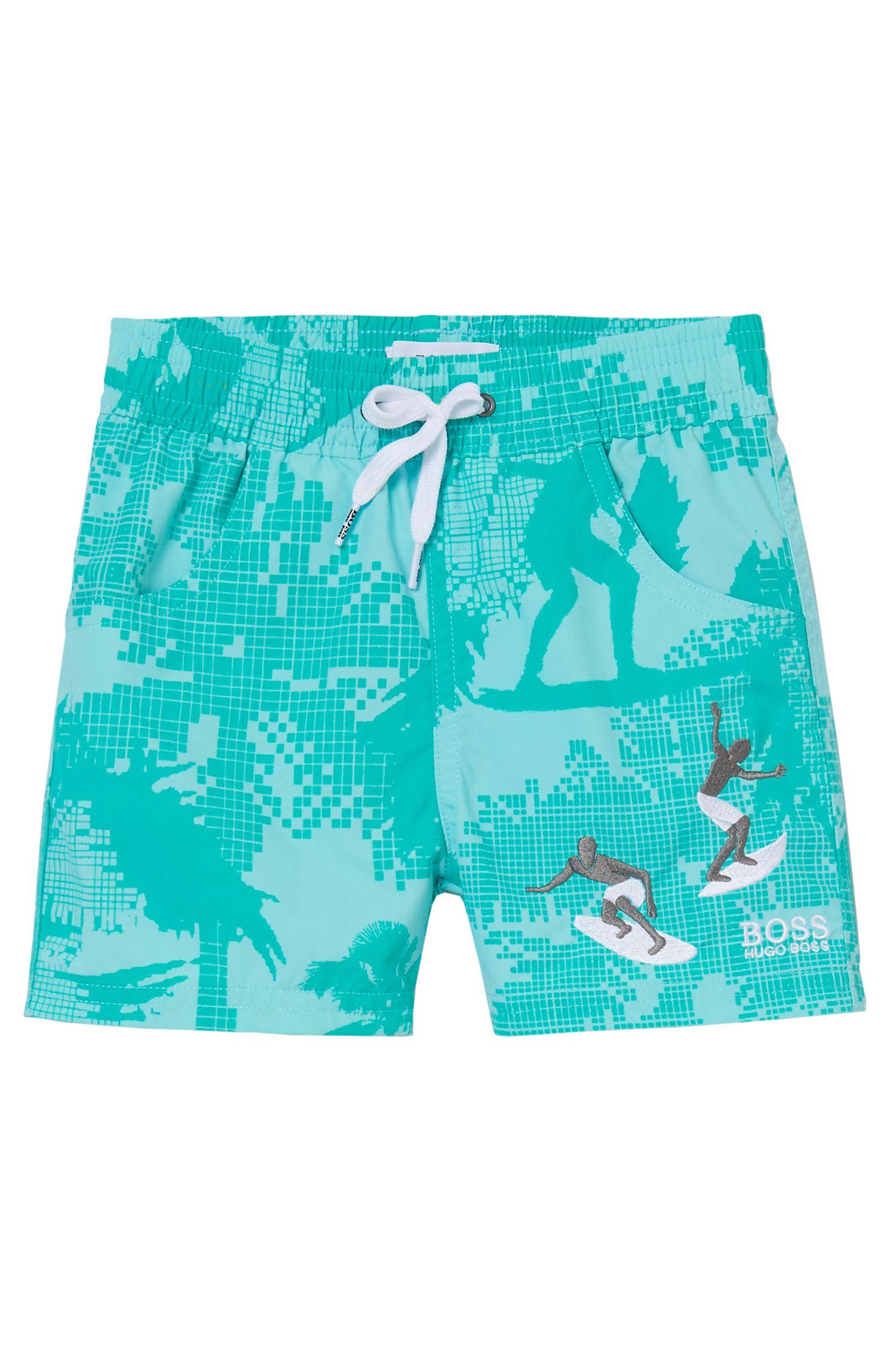 'J04229' | Toddler Cotton Swim Trunks