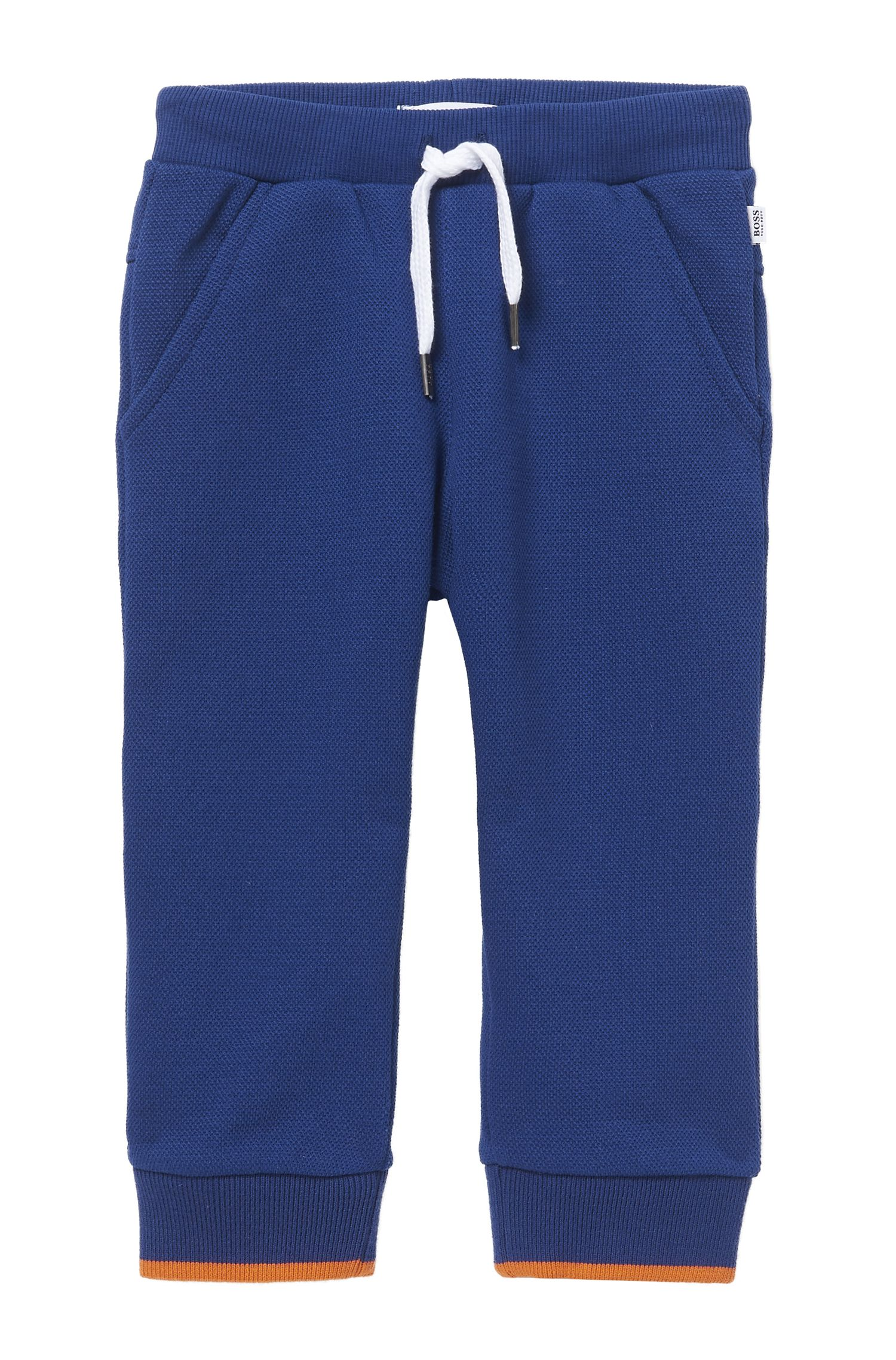 'J04246' | Toddler Cotton Pique Sweatpants