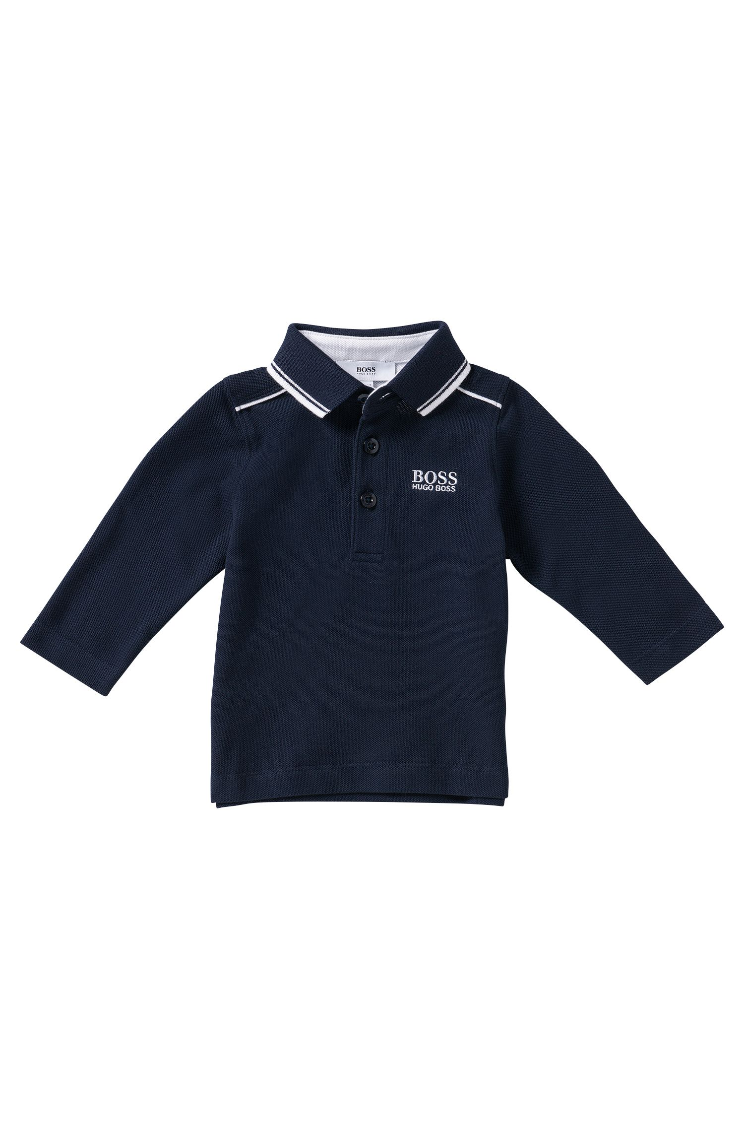 'J05399' | Toddler  Cotton Pique Polo Shirt