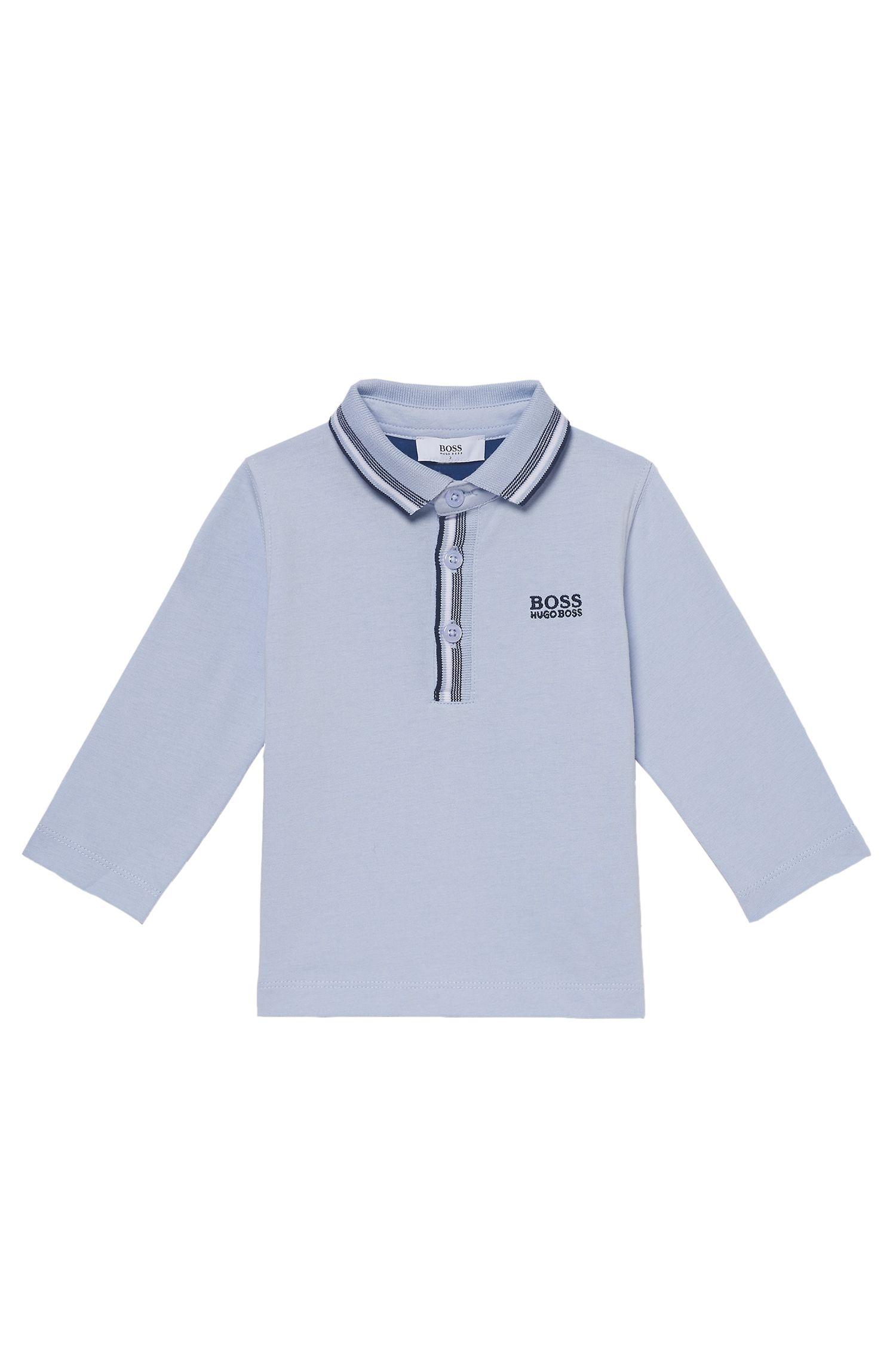 'J05500' | Toddler Stretch Cotton Blend Polo Shirt