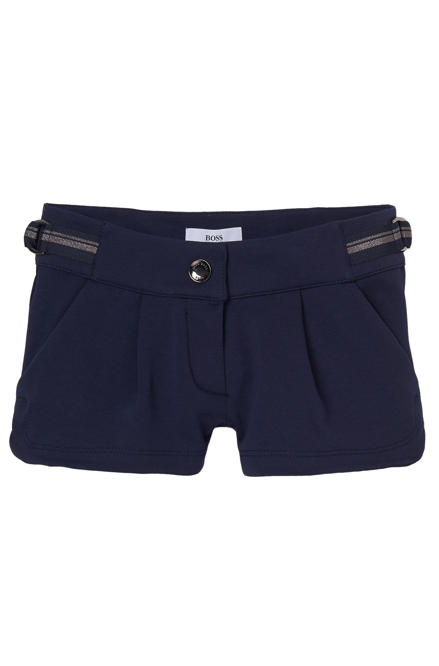 'J14173' | Girls Cotton Fleece Shorts