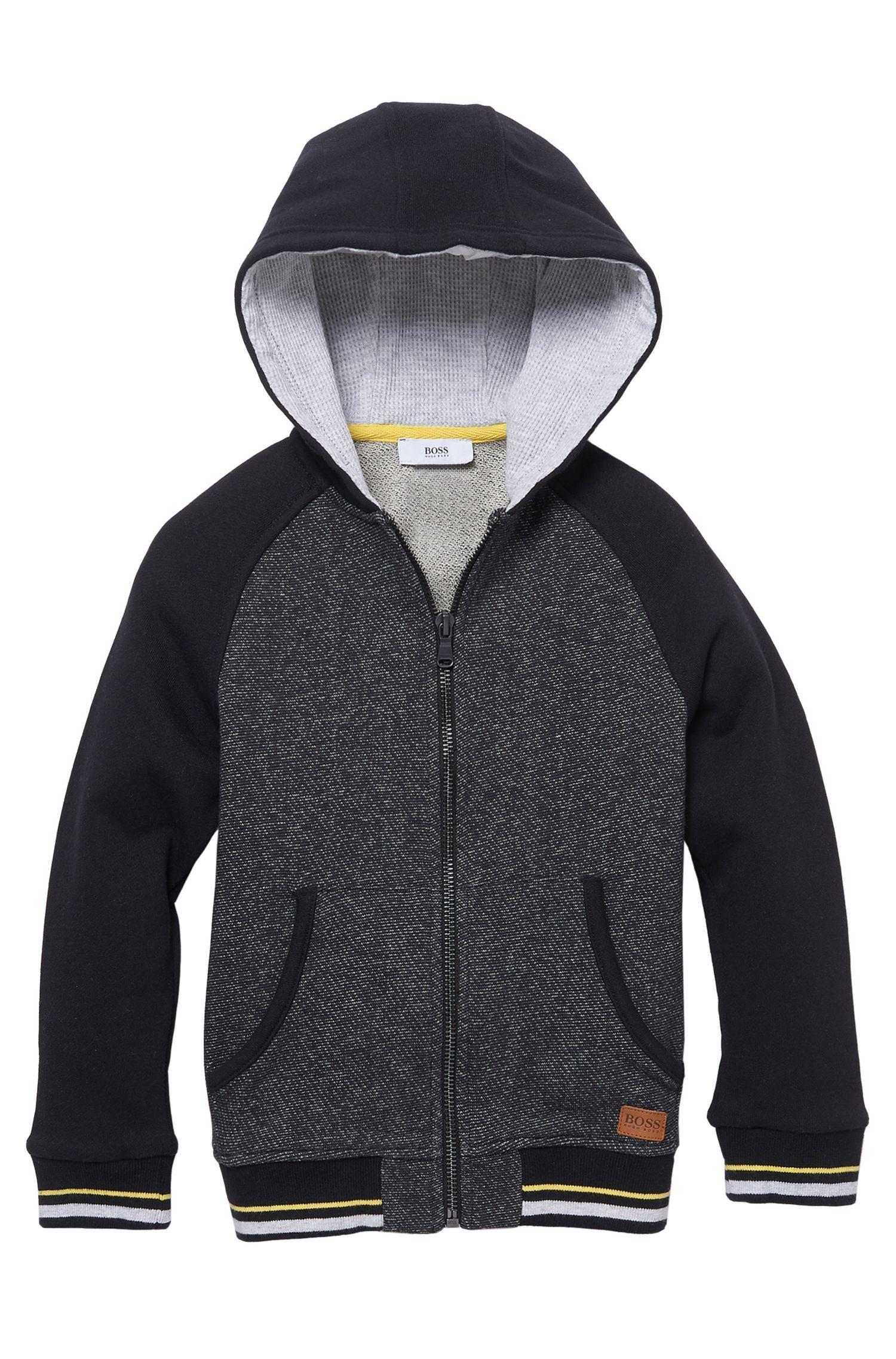 'J25963' | Boys Cotton Jersey Zip Hooded Sweatshirt