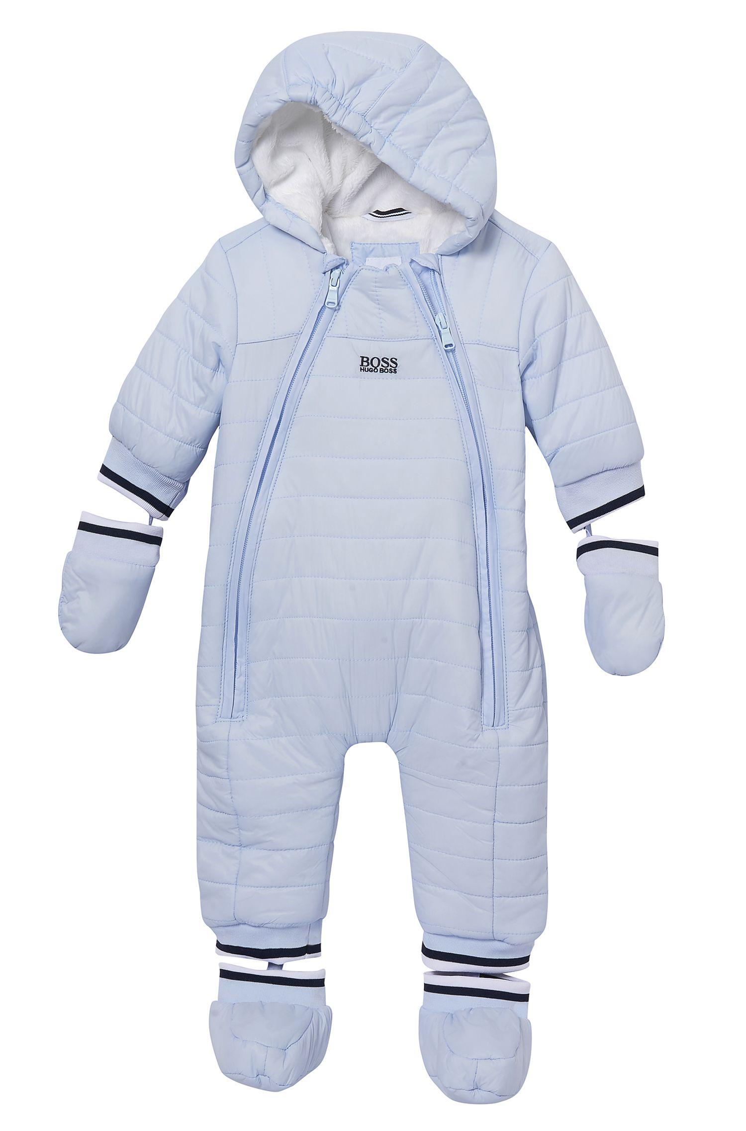 'J96042' | Newborn Nylon Blend Snowsuit