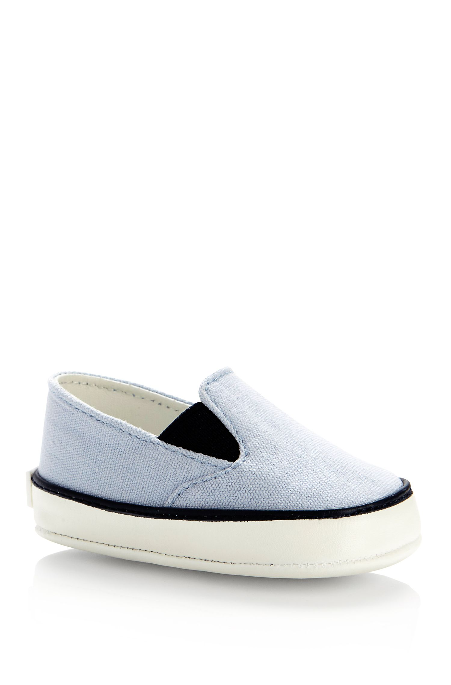 'J99044' | Newborn Canvas Slip-Ons