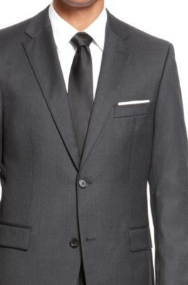 be79680fb BOSS - Super 110 Virgin Wool Suit, Comfort Fit | Pasolini/Movie