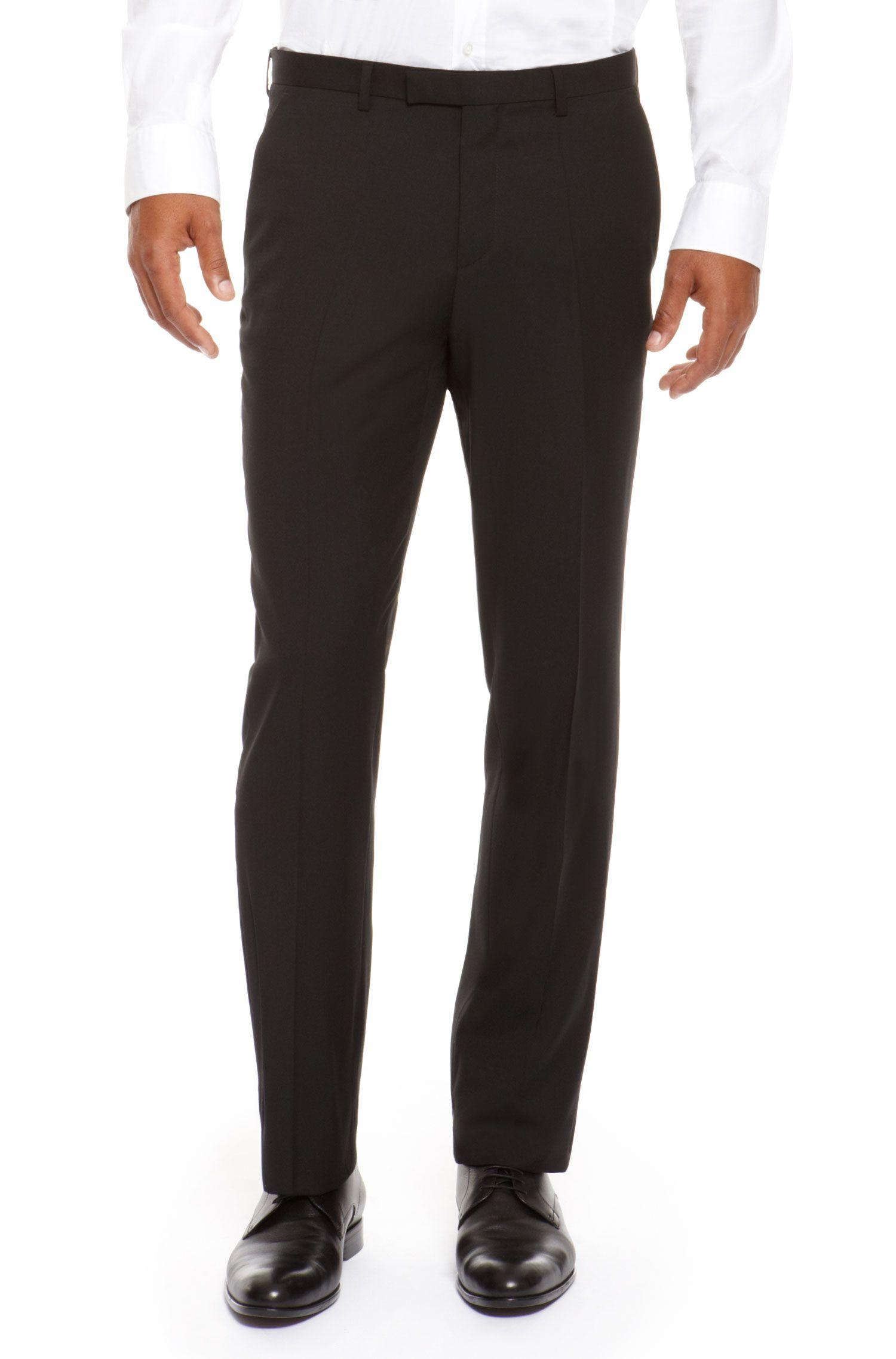 'Sharp' | Regular Fit, Virgin Wool Dress Pants