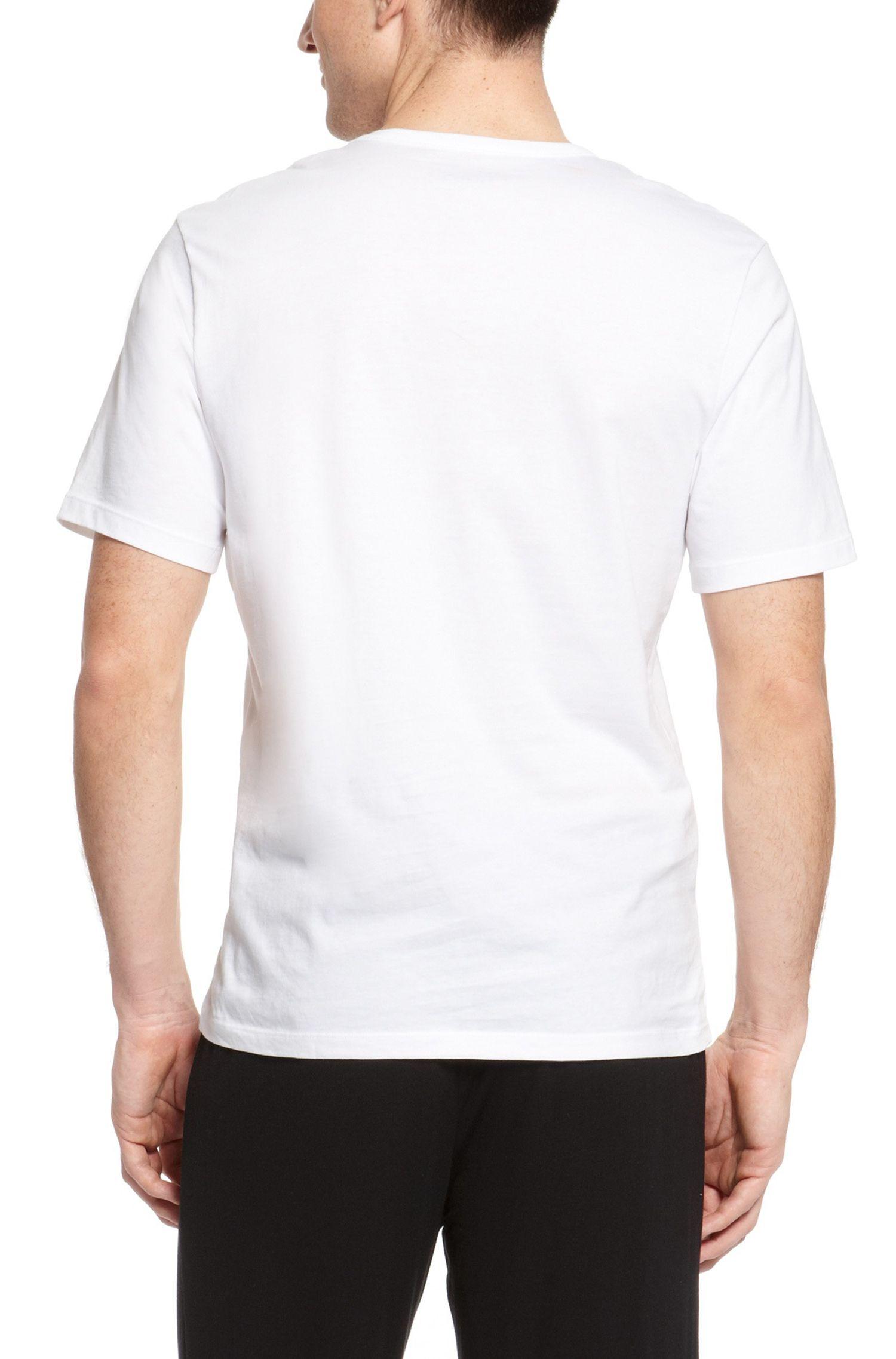 'Shirt'   Cotton V-Neck Undershirt, 3-Pack, White