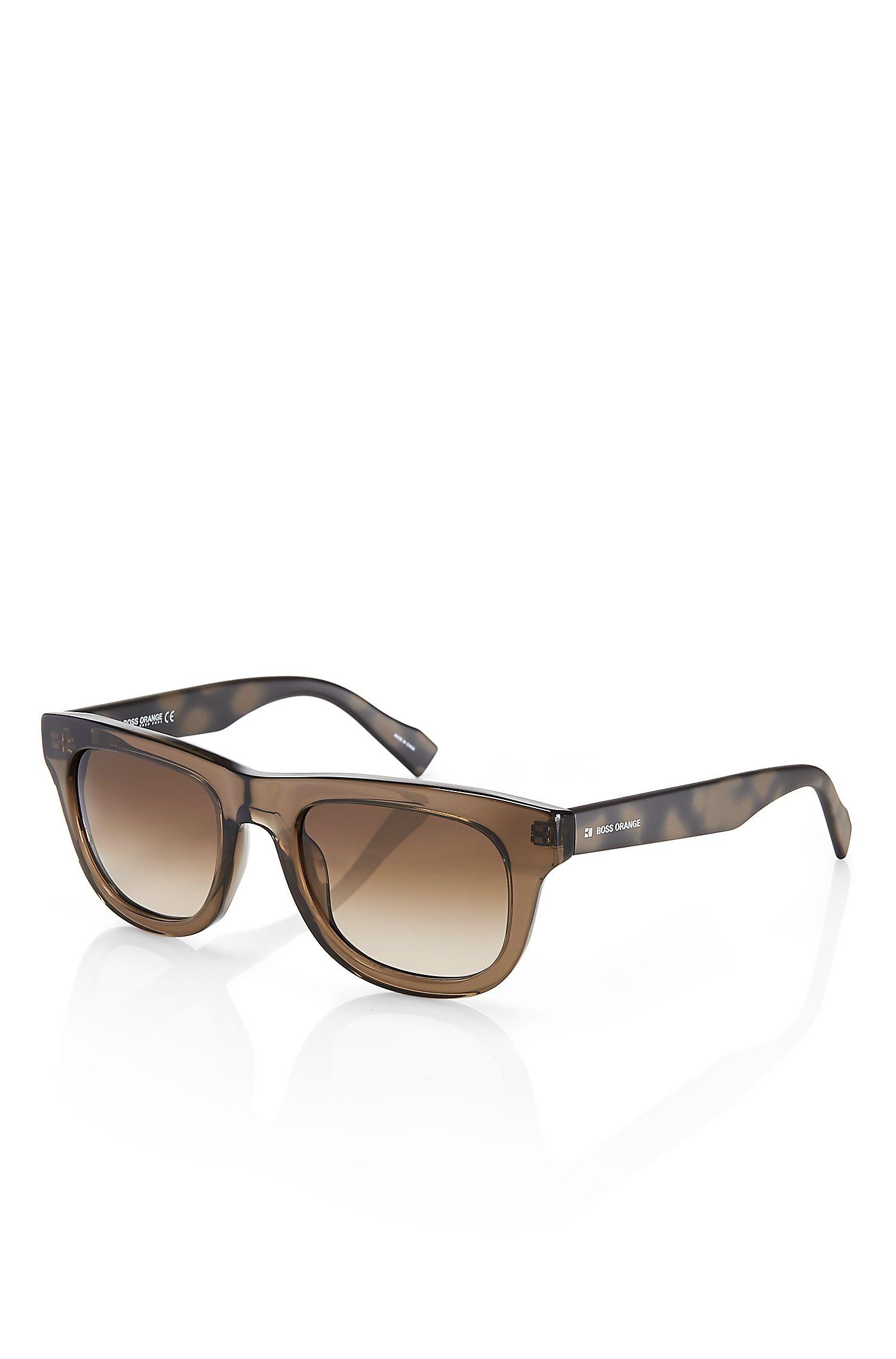 'Sunglasses ' | Plastic Splash Color Frame Sunglasses