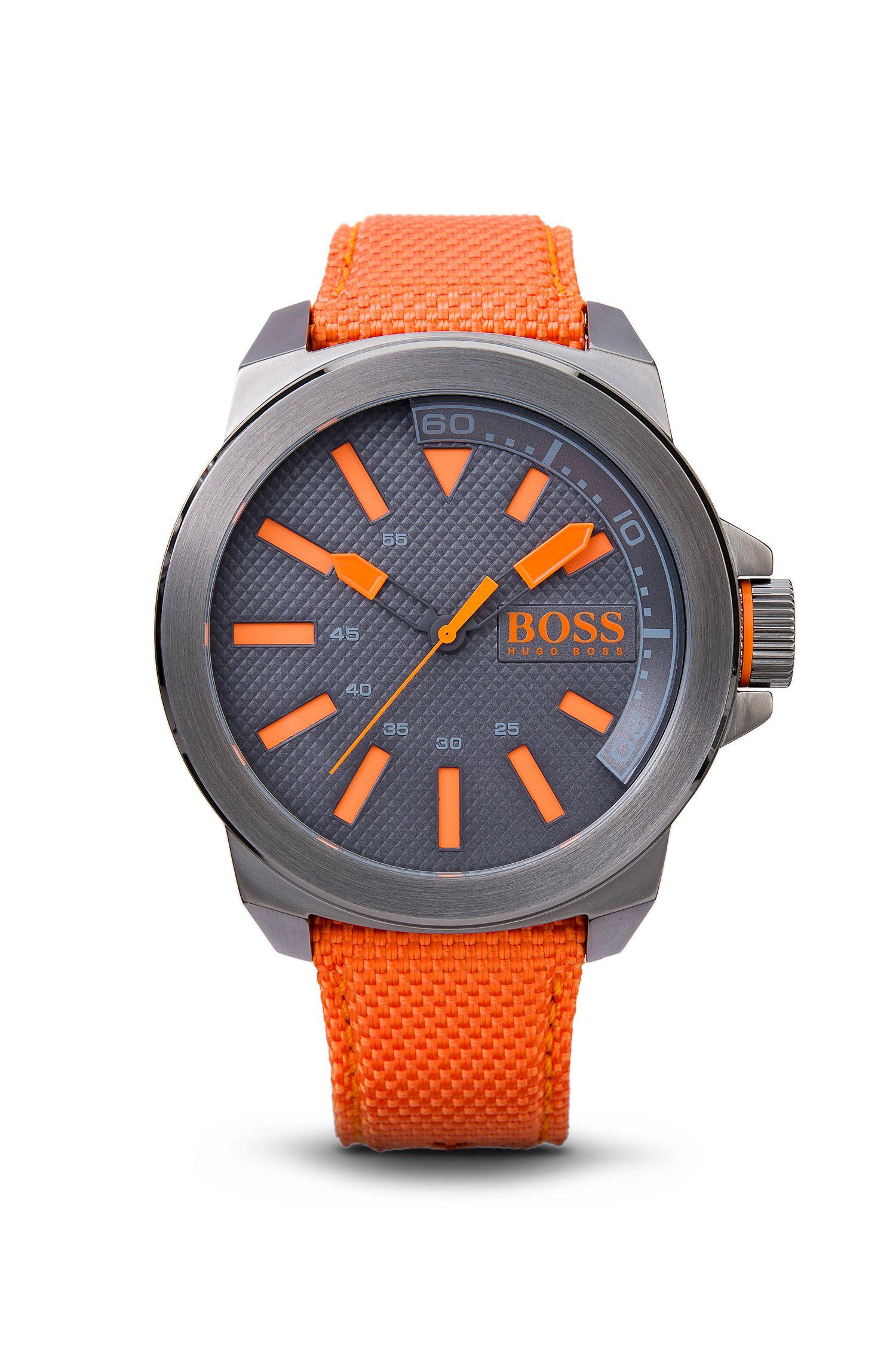Woven Nylon Strap Watch | 1513010