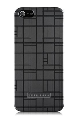 'Catwalk IP5 Grey'   Scratch Resistant iPhone 5 Case , Dark Grey