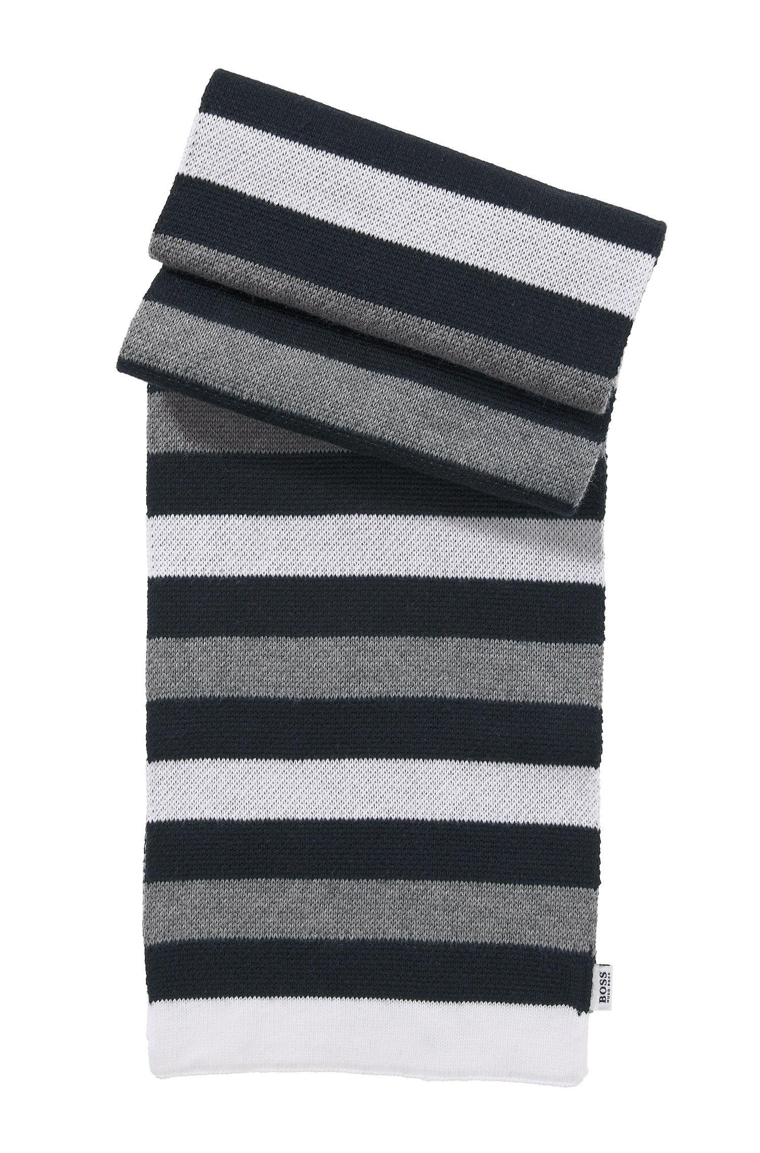 'J01041'   Knit Cotton Scarf