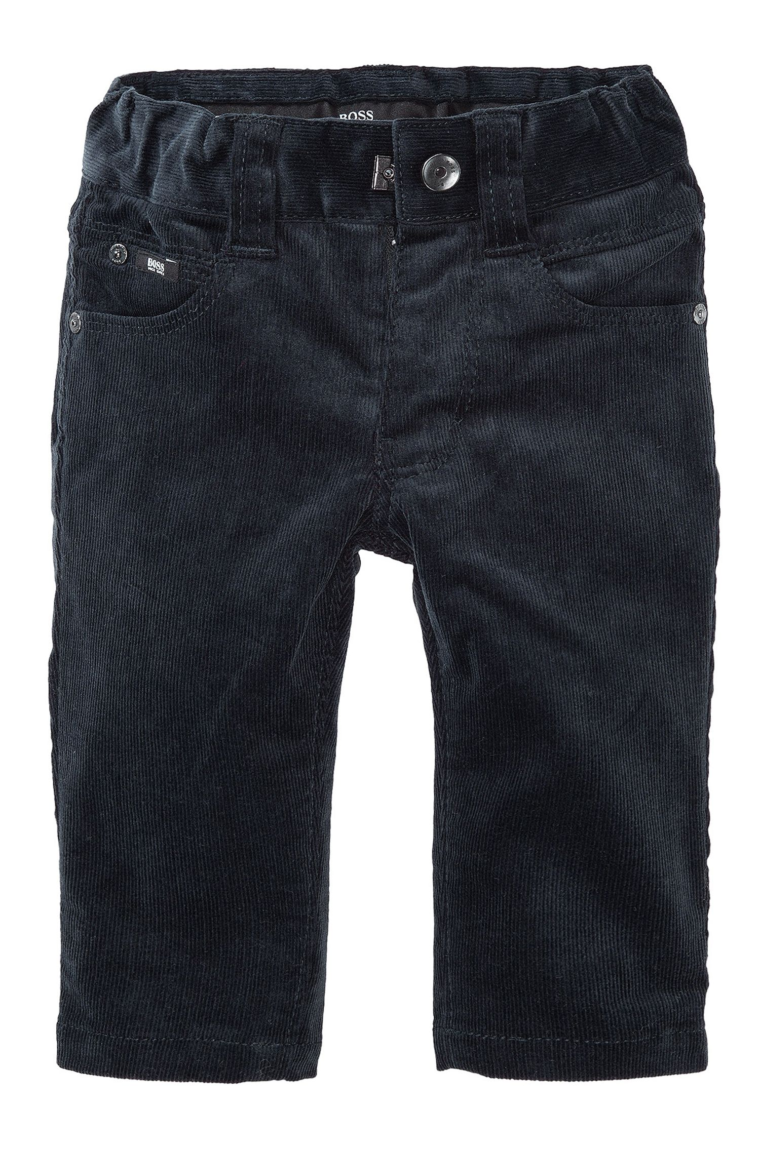 'J04124' | Toddler Stretch Cotton Corduroy Chinos