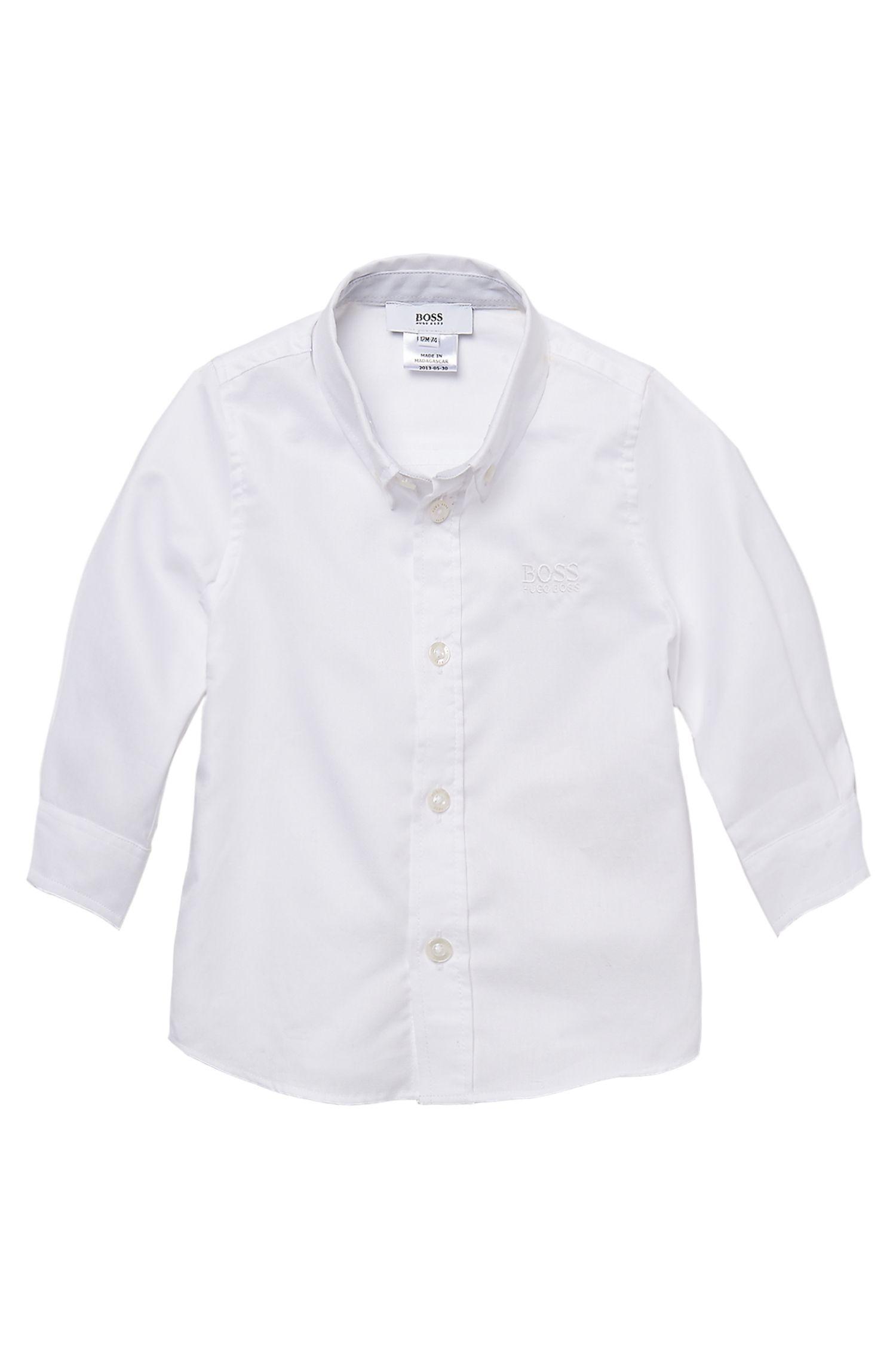 'J05241' | Toddler Cotton Button Down Shirt
