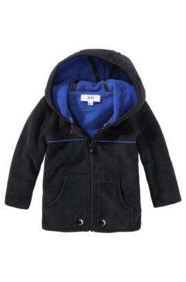 'J05253' | Toddler Fleece Jacket, Black