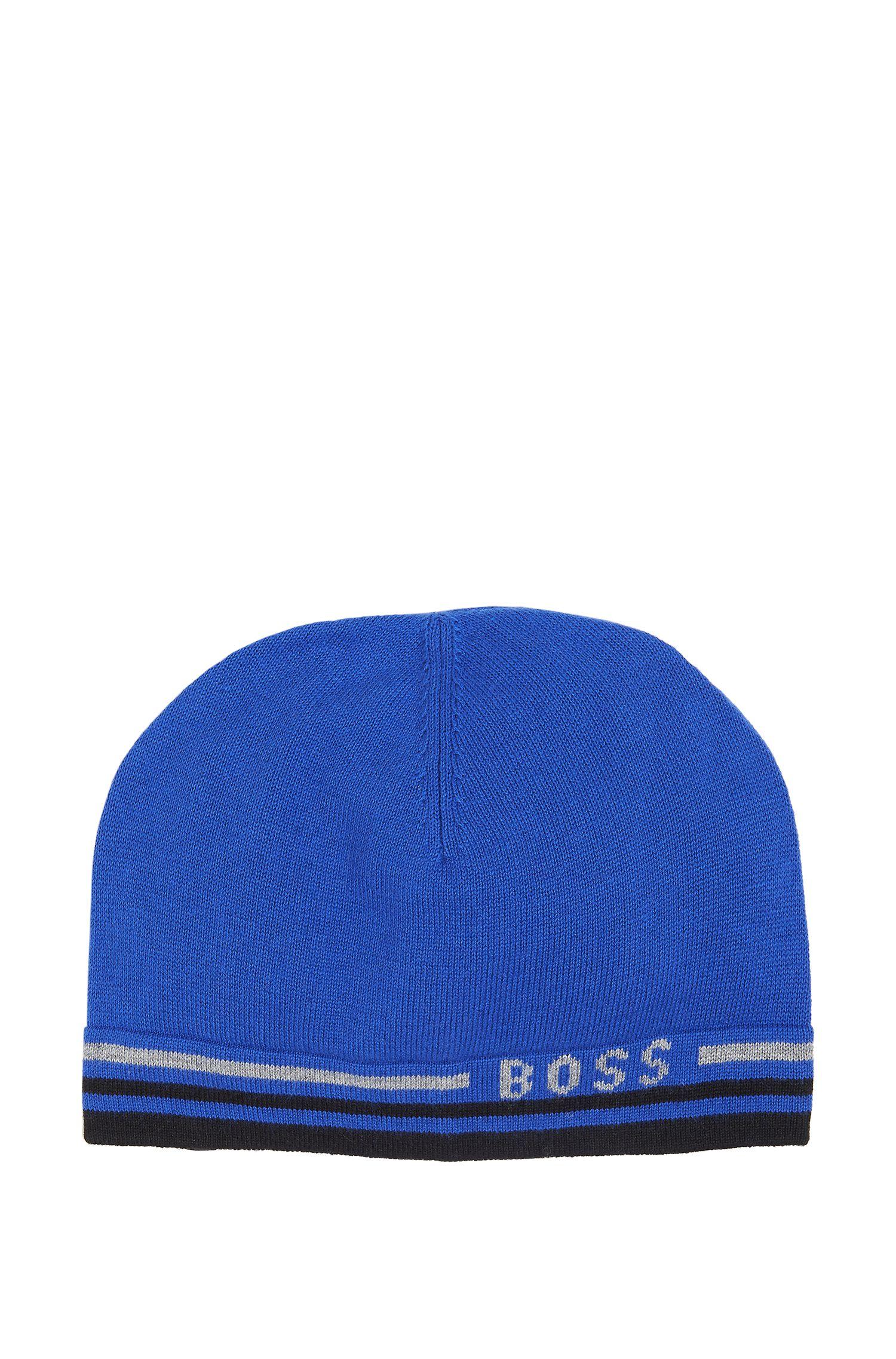 'J21108' | Knit Cotton-Wool Blend Hat