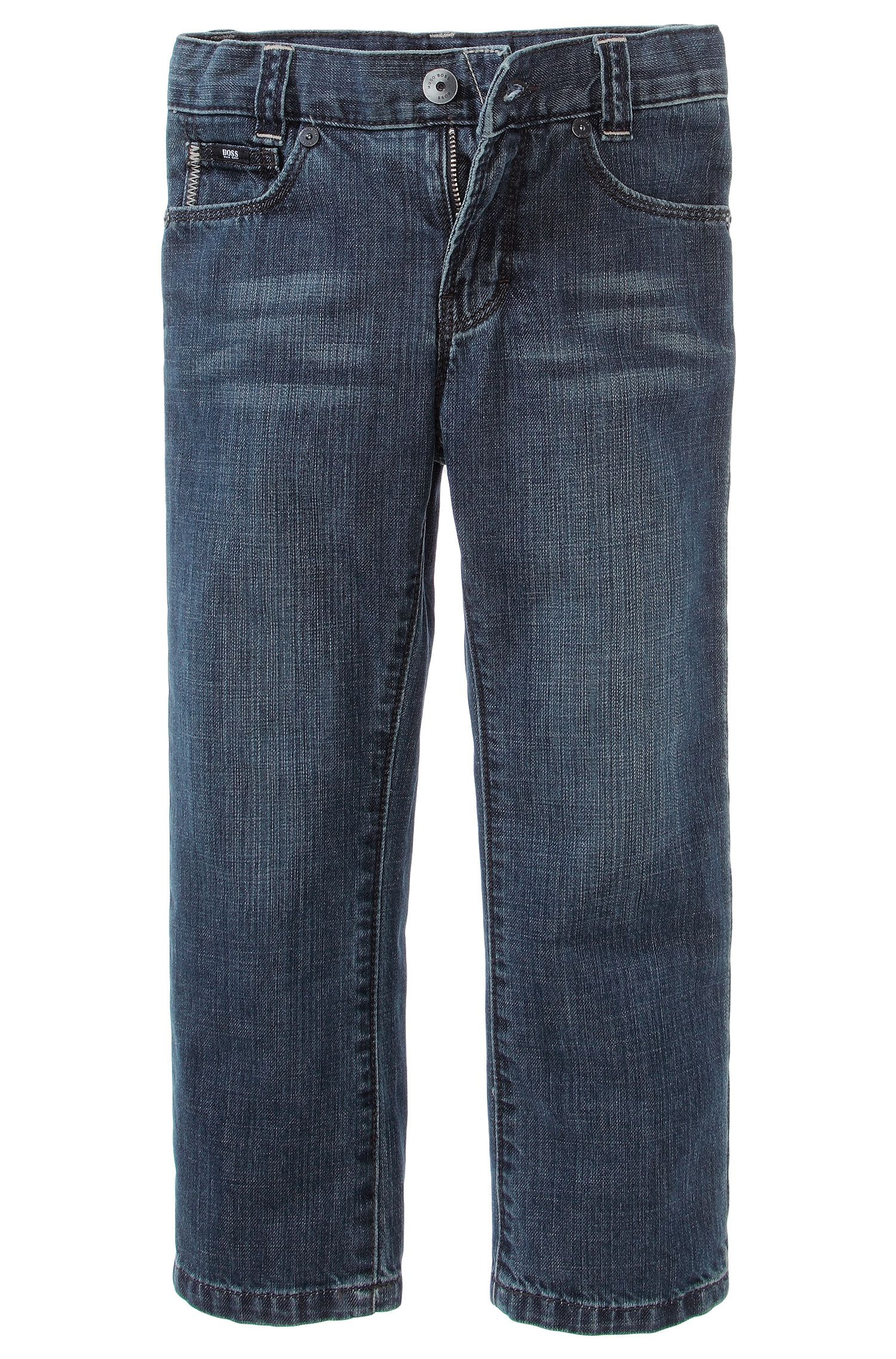 'J24244' | Boys Cotton Jeans
