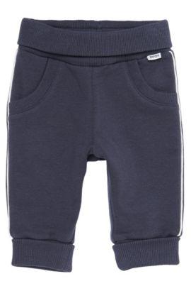 'J94073' | Infant Stretch Fleece Pants, Black