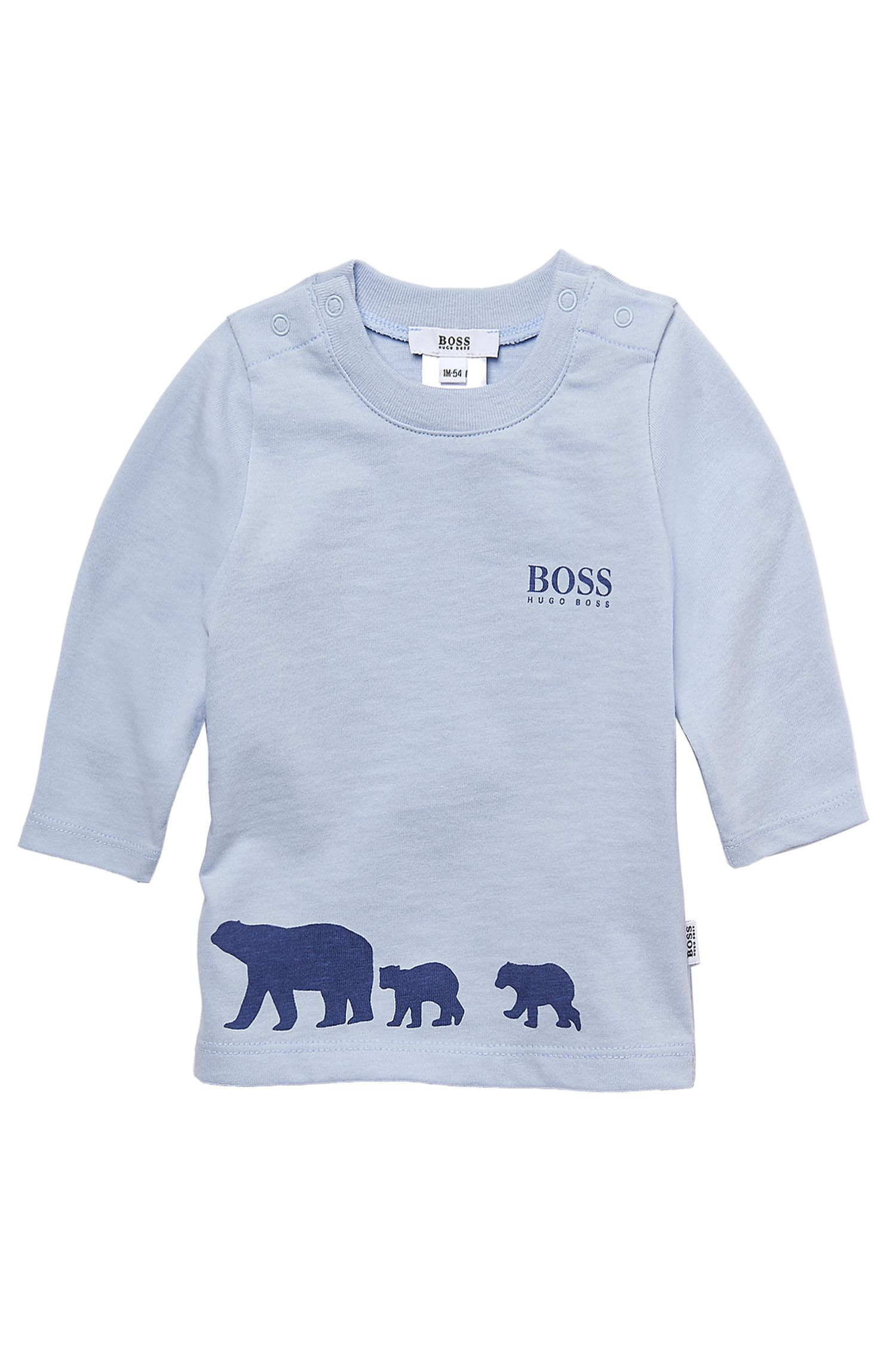 'J95113'   Infant Cotton Graphic Sweater