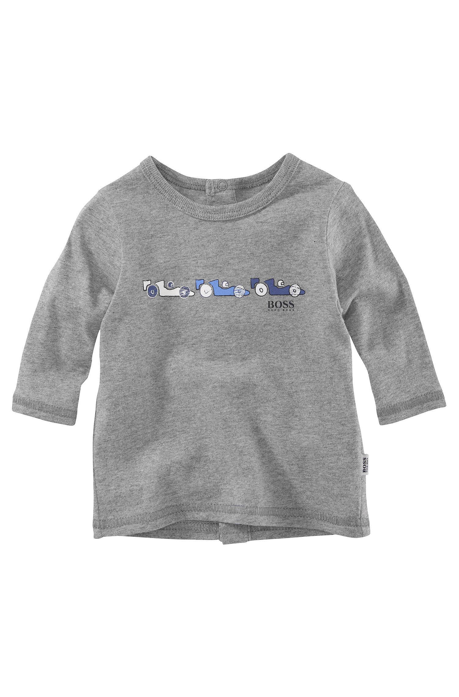 'J95114' | Infant Cotton Crewneck Graphic Sweater