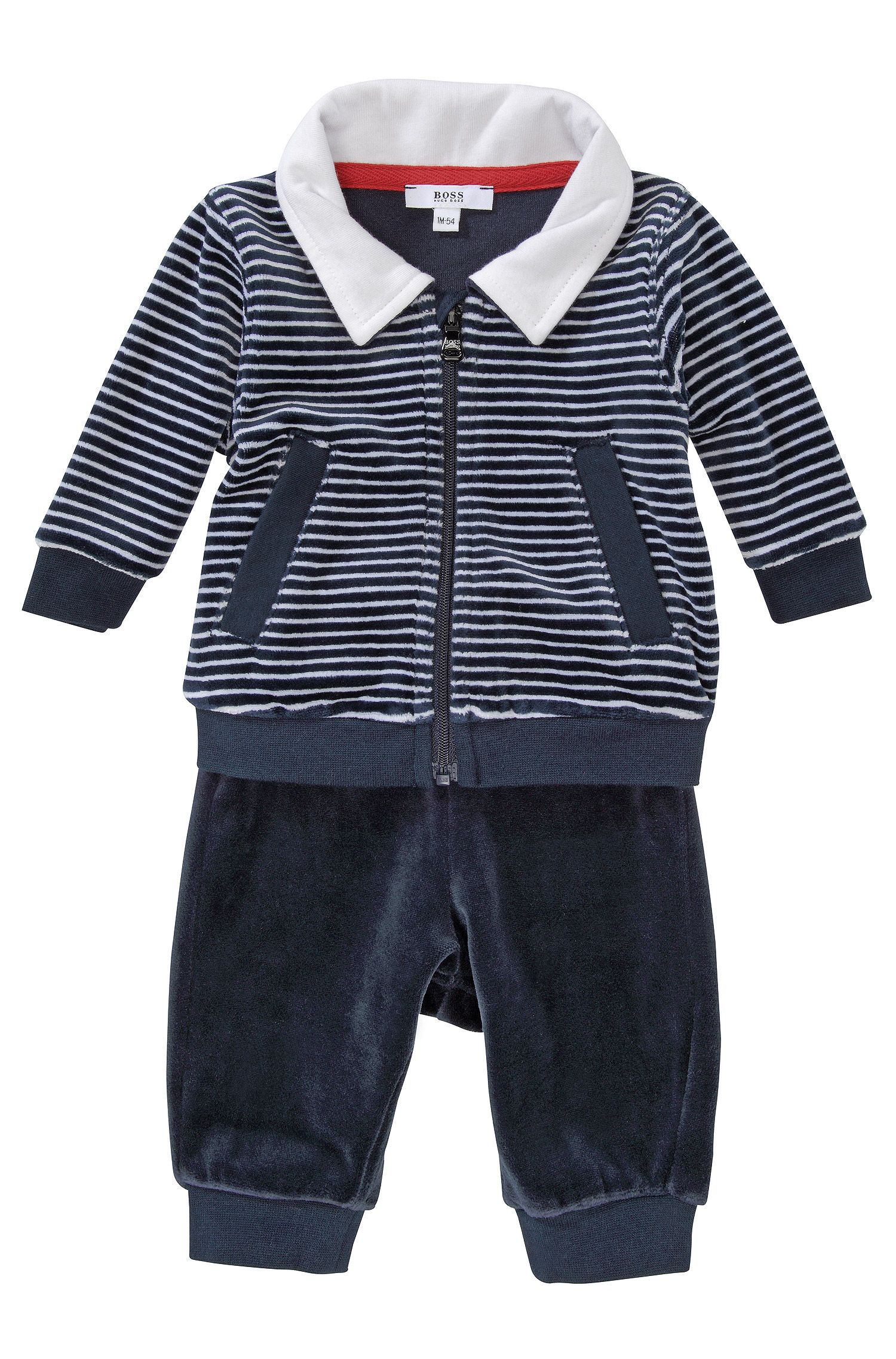 'J98082' | Infant Terry Velvet Activewear Set