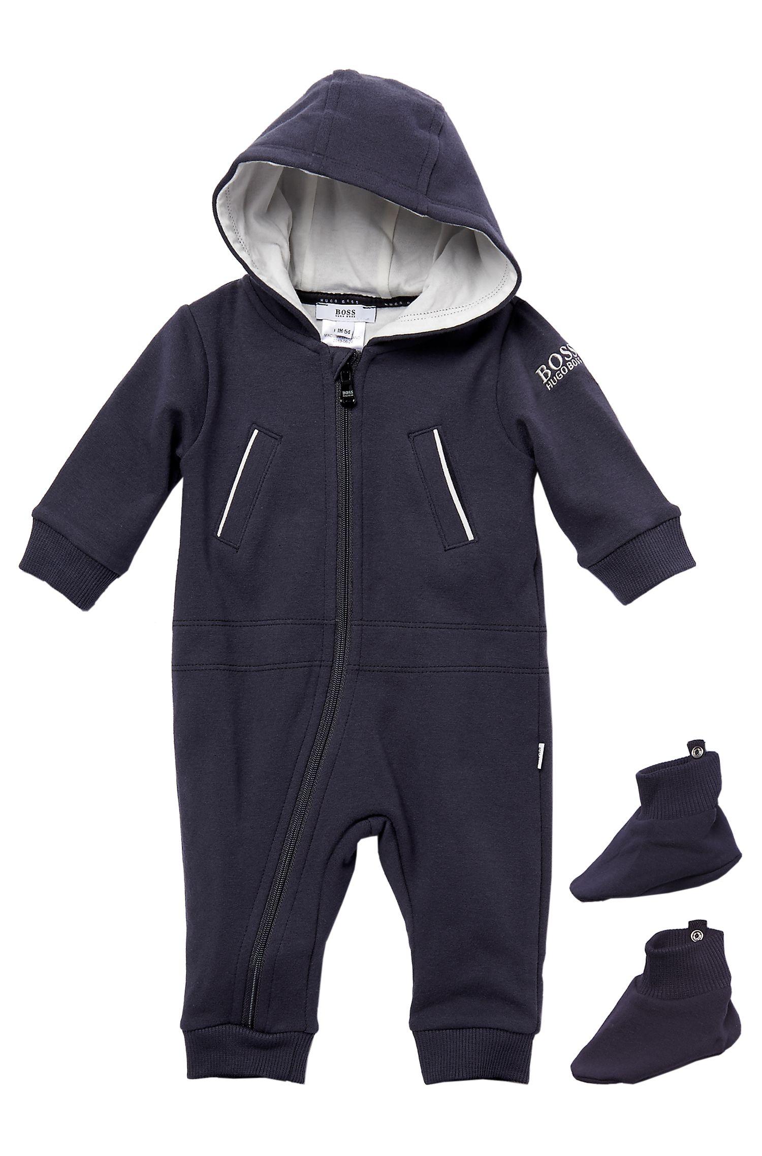 'J98085'   Infant Fleece Onesie and Booties Set