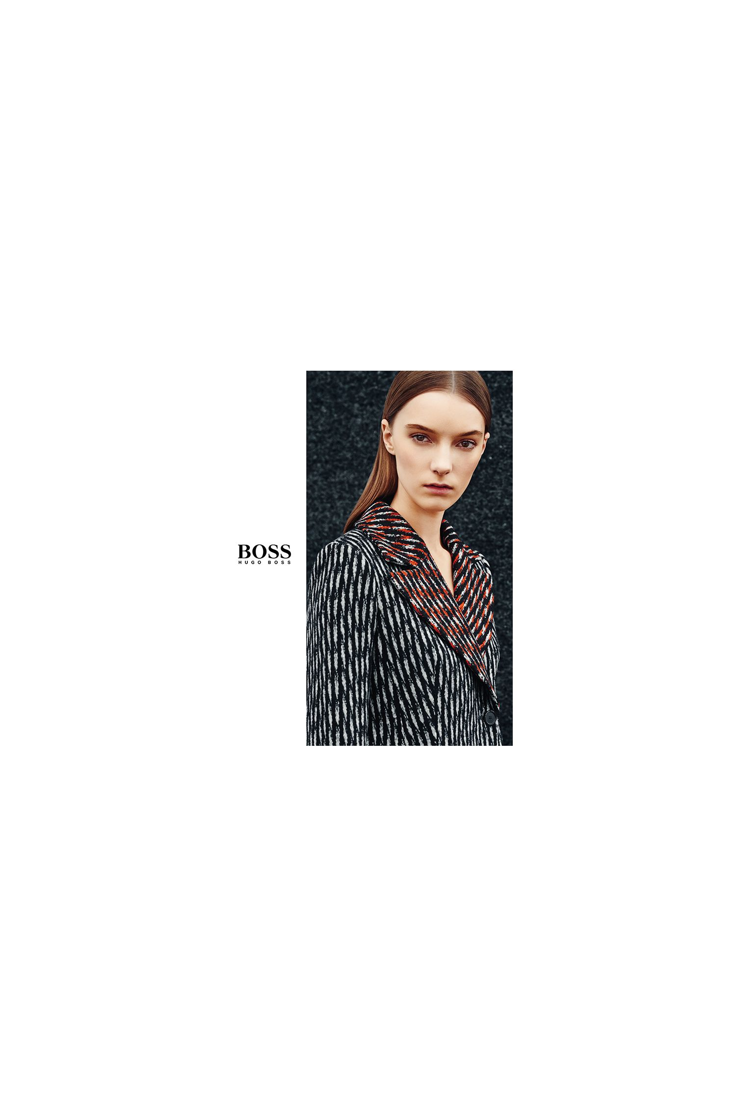 BOSS womenswear booklet