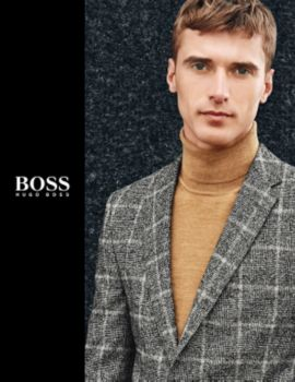 BOSS menswear booklet,
