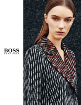 BOSS womenswear booklet,