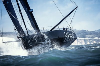 HUGO BOSS-jacht