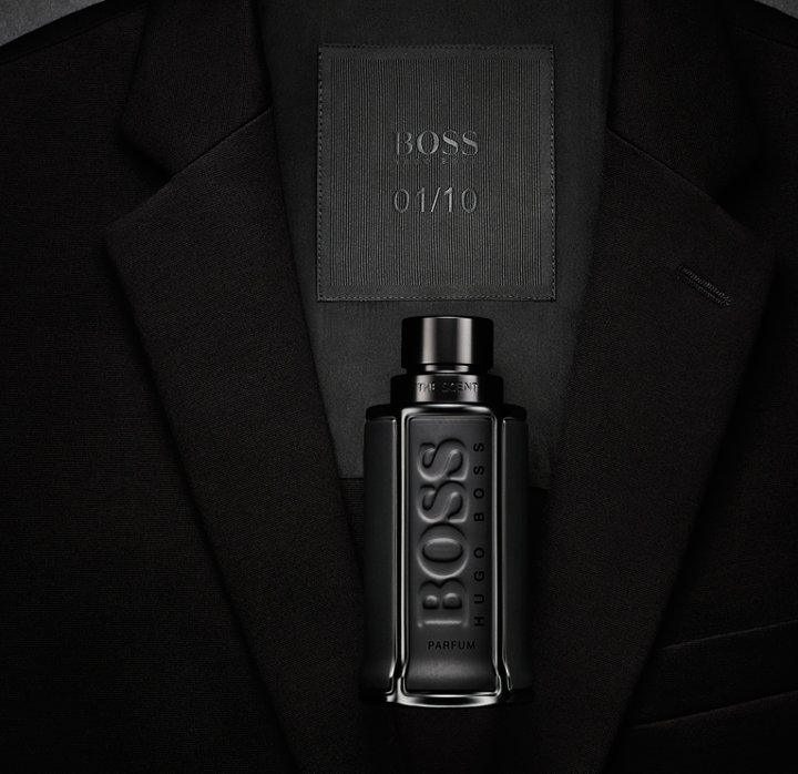 25e25b467c8 Black Flacon of BOSS The Scent Black Edition ...