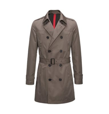 Slim-Fit Trenchcoat