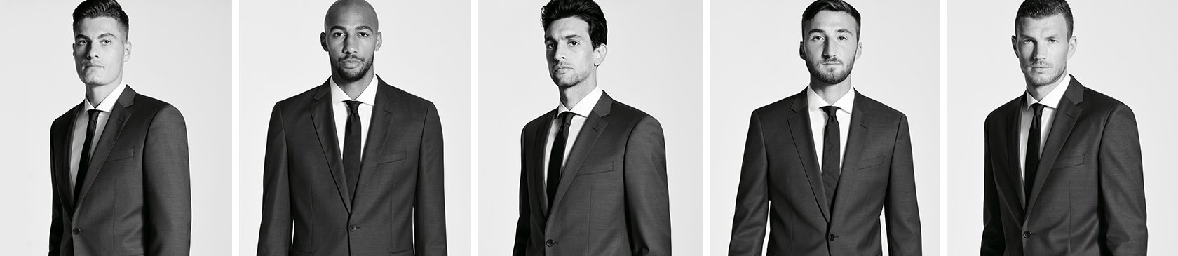 c76017ab156b51 A. S. Roma Players - Suits, news & more brought to you by BOSS