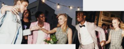 Invitato Matrimonio Uomo Casual : Hugo look da matrimonio outfit per sposi e invitati
