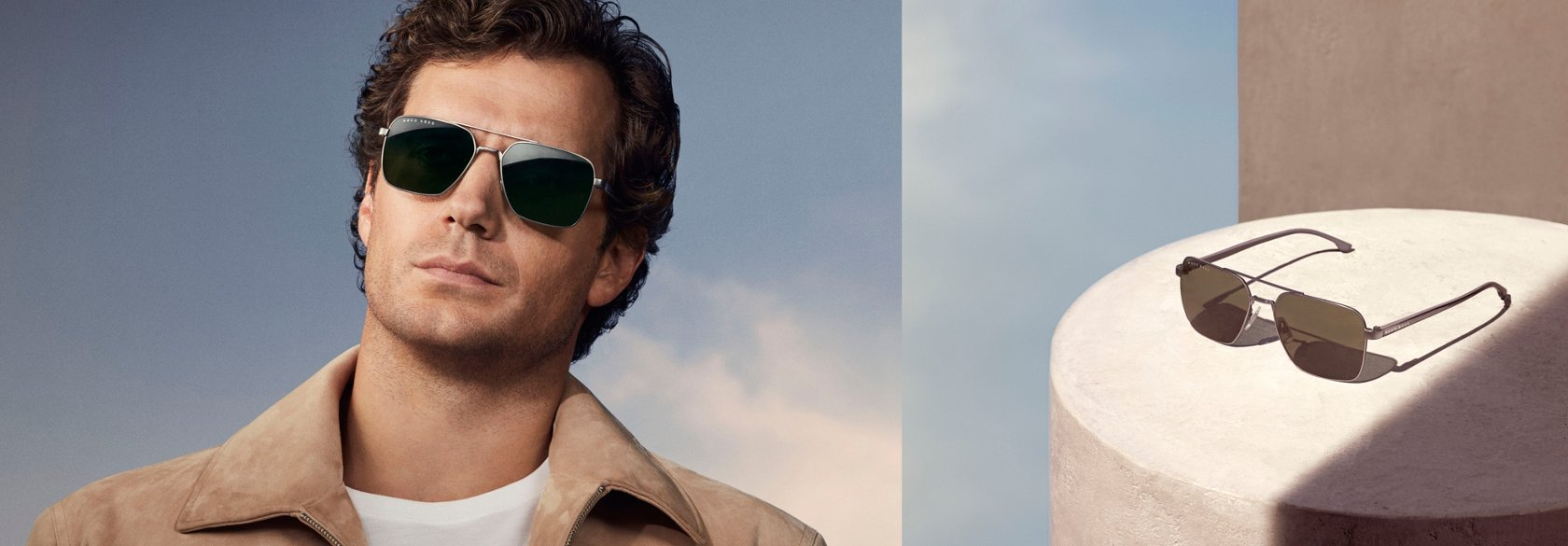 313361507b The new BOSS Eyewear collection featuring actor Henry Cavill ...